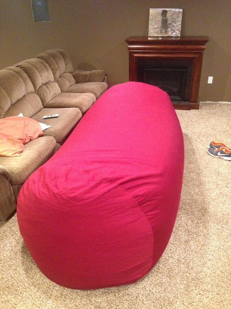 Most Recent Bean Bag Sofa Chairs Throughout Bean Bag Sofa / Bed: 8 Steps (With Pictures) (View 13 of 20)