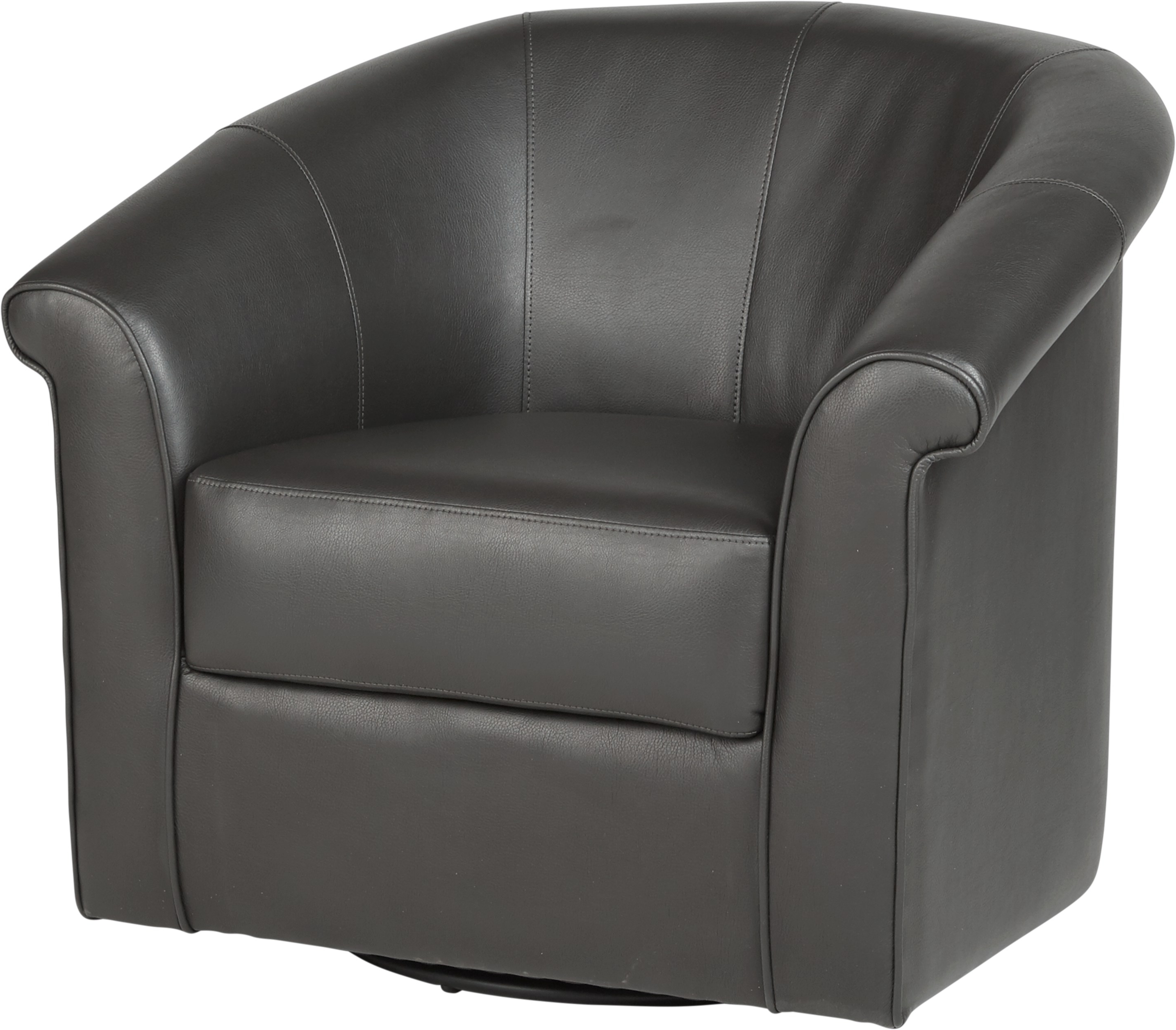 Most Recent Benning Charcoal Swivel Chair – Chairs (Black) Within Charcoal Swivel Chairs (View 10 of 20)