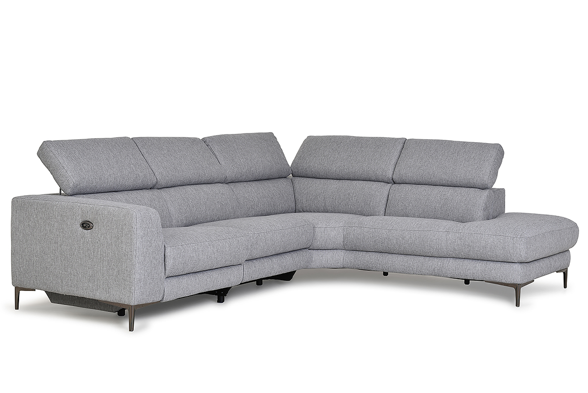 Most Recent Chaise Sofa Chairs Inside Lubeck Left Hand Facing Electric Corner Sofa – Furniture Stores Ireland (View 17 of 20)
