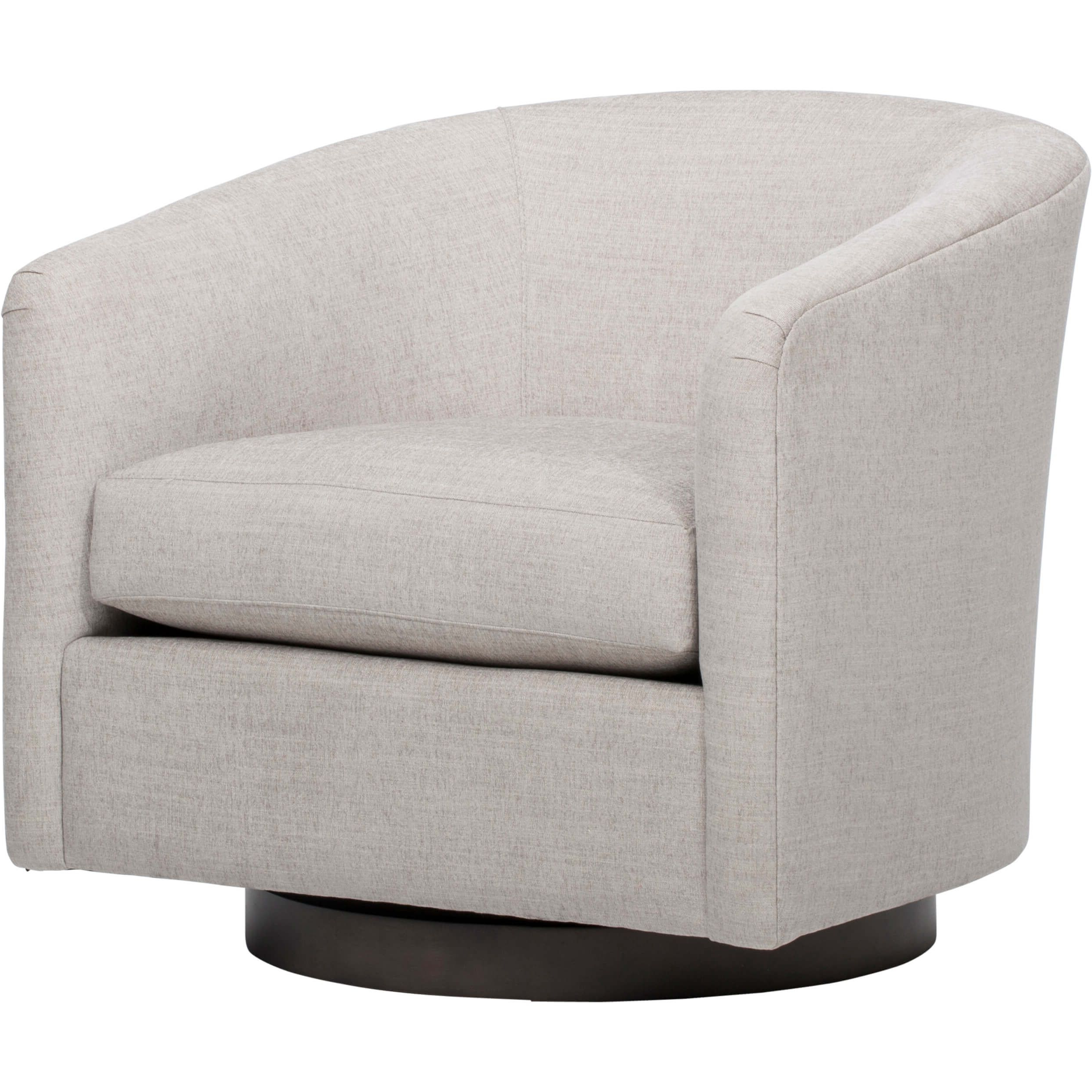 Most Recent Coltrane Swivel Chair, Dame Feather In (View 4 of 20)