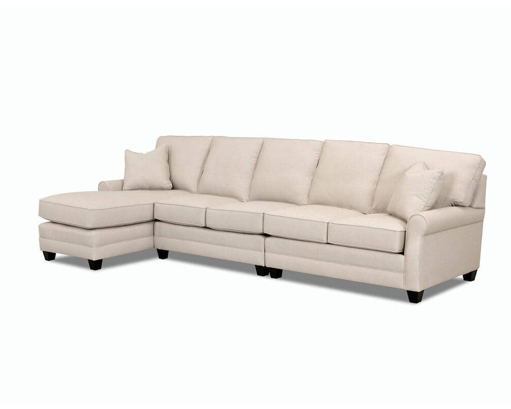 Most Recent Comfort Design Loft Sectional Cl4032 Loft Sectional In Loft Arm Sofa Chairs (View 11 of 20)