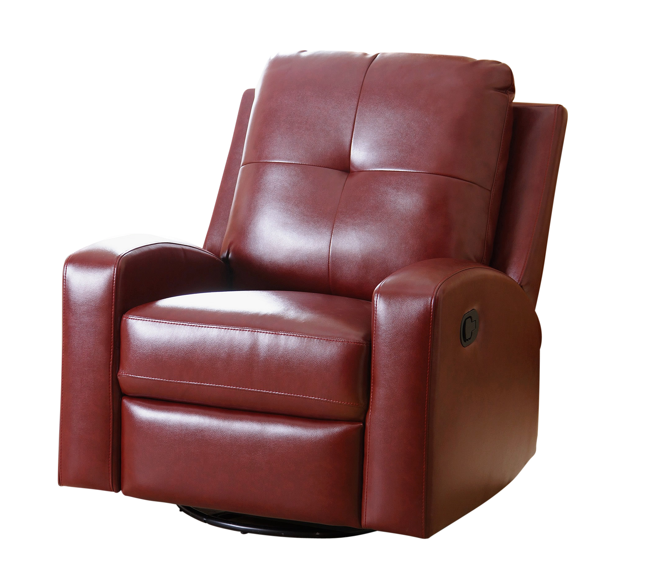 Most Recent Katrina Swivel Glider Recliner, Red – Walmart With Katrina Beige Swivel Glider Chairs (Gallery 19 of 20)