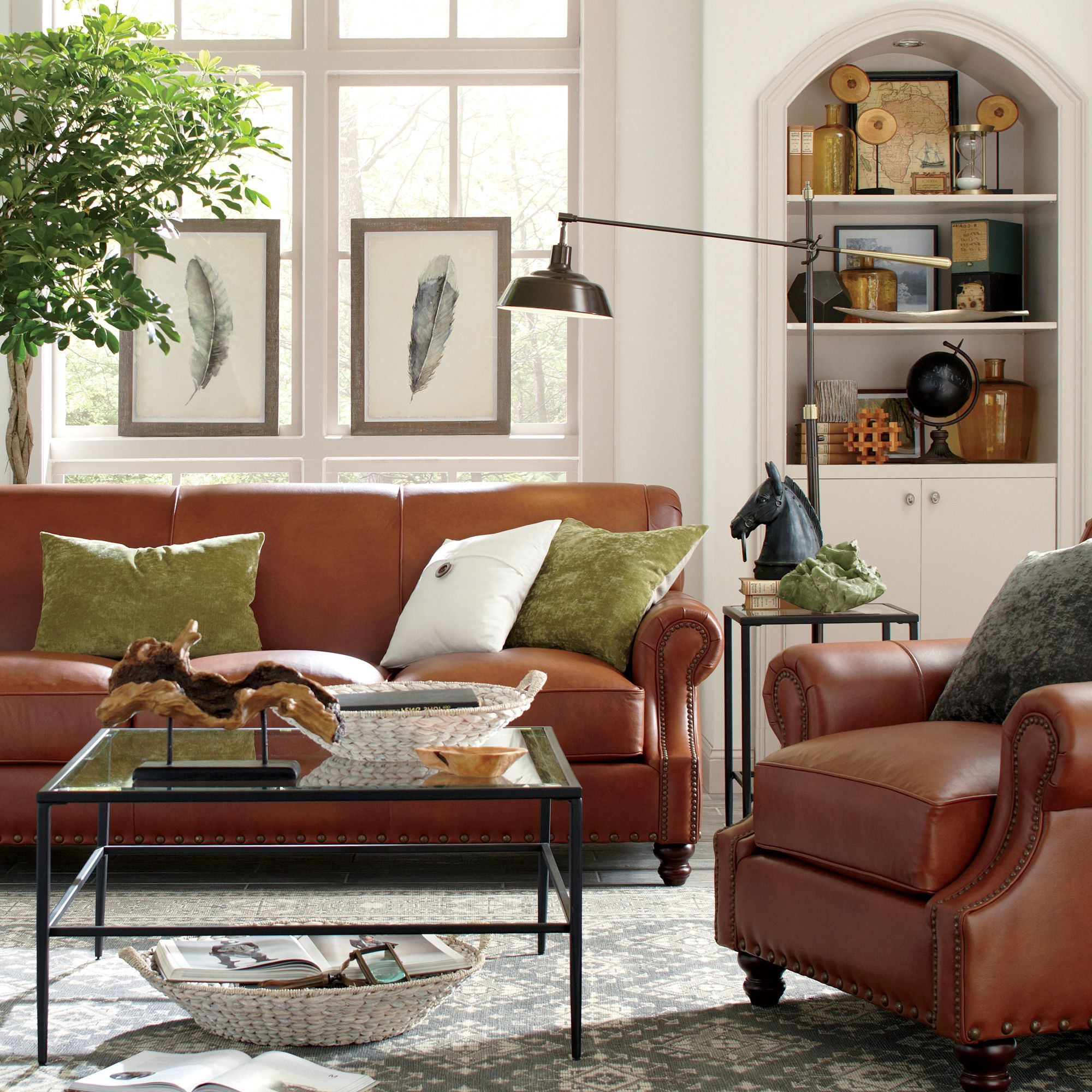 Most Recent Landry Sofa Chairs Regarding Landry Leather Sofa (View 7 of 20)