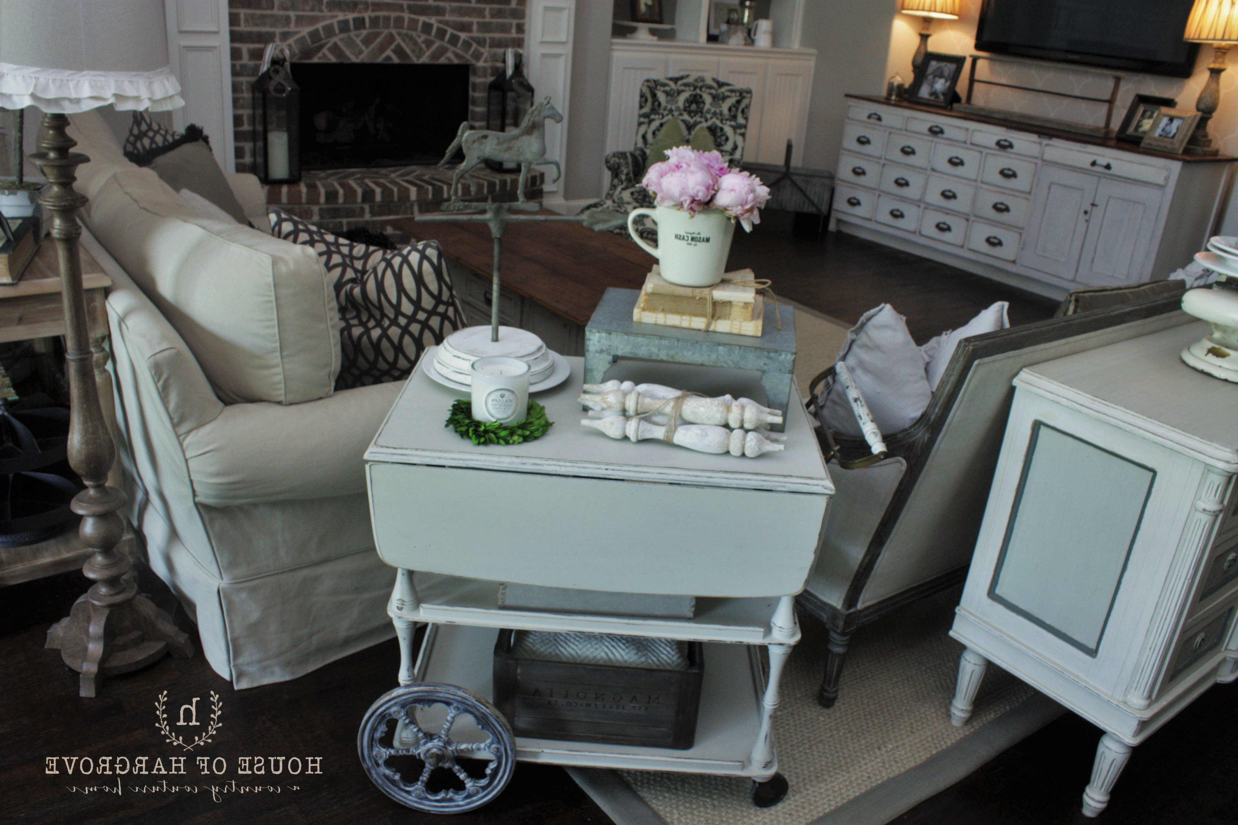 Most Recent Magnolia Home Paint Review – House Of Hargrove In Magnolia Home Ravel Linen Sofa Chairs (View 19 of 20)