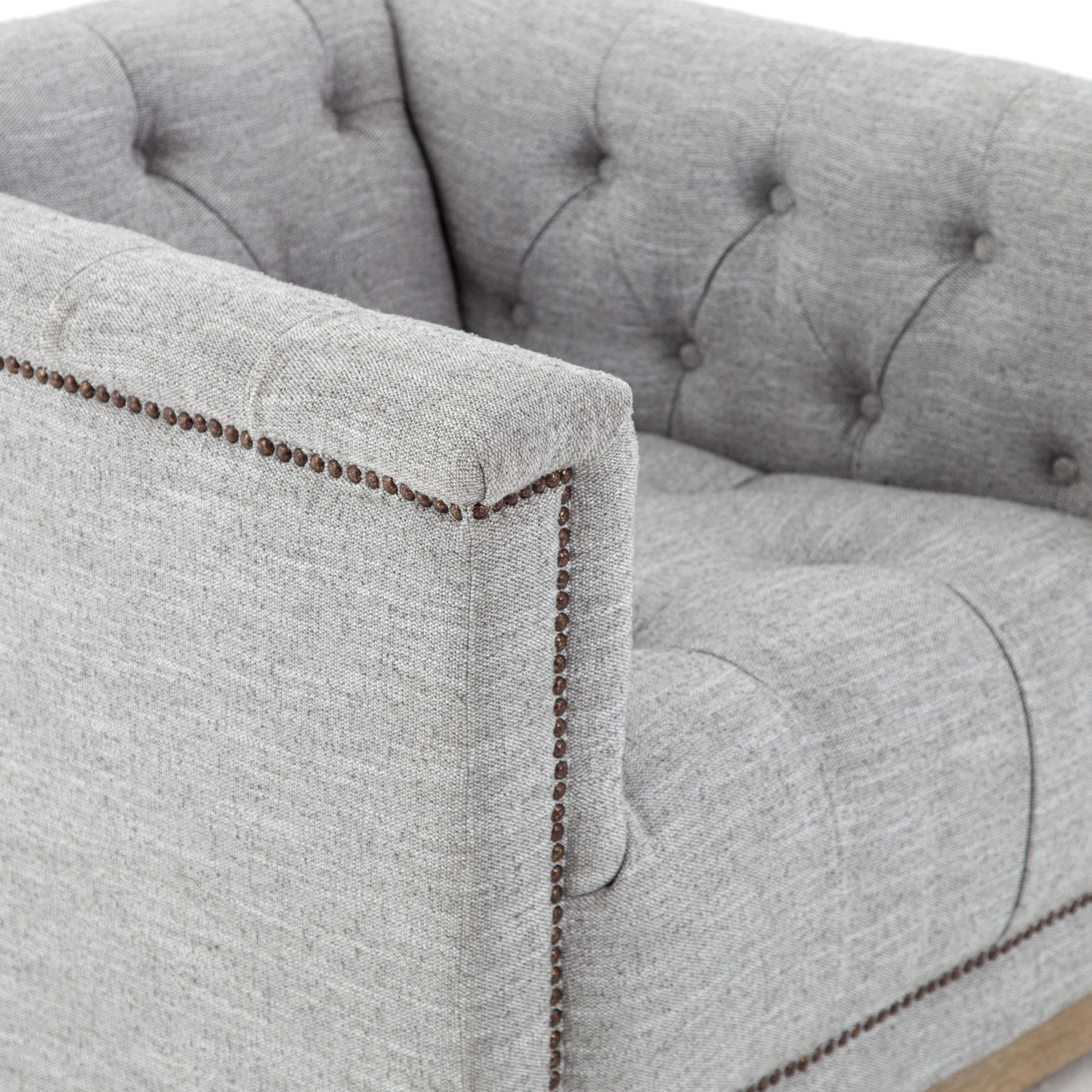 Featured Photo of Manor Grey Swivel Chairs