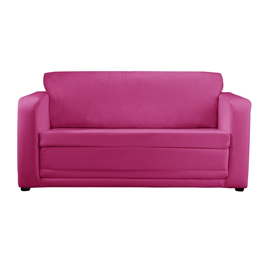 Most Recently Released Children's Sofa Bed – Plain Pink For Childrens Sofa Bed Chairs (View 15 of 20)