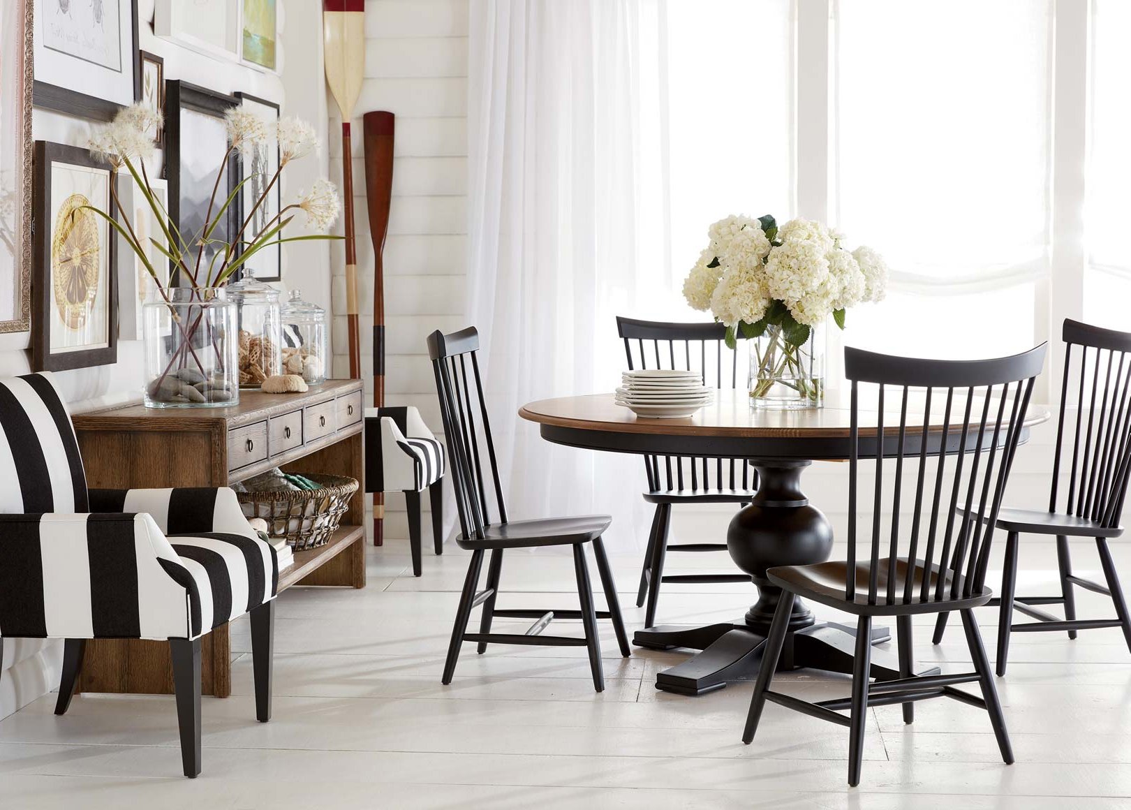 Most Recently Released Dining Room Set : Beach Dining Furniture Coastal Bench Furniture With Sofa Table With Chairs (View 9 of 20)