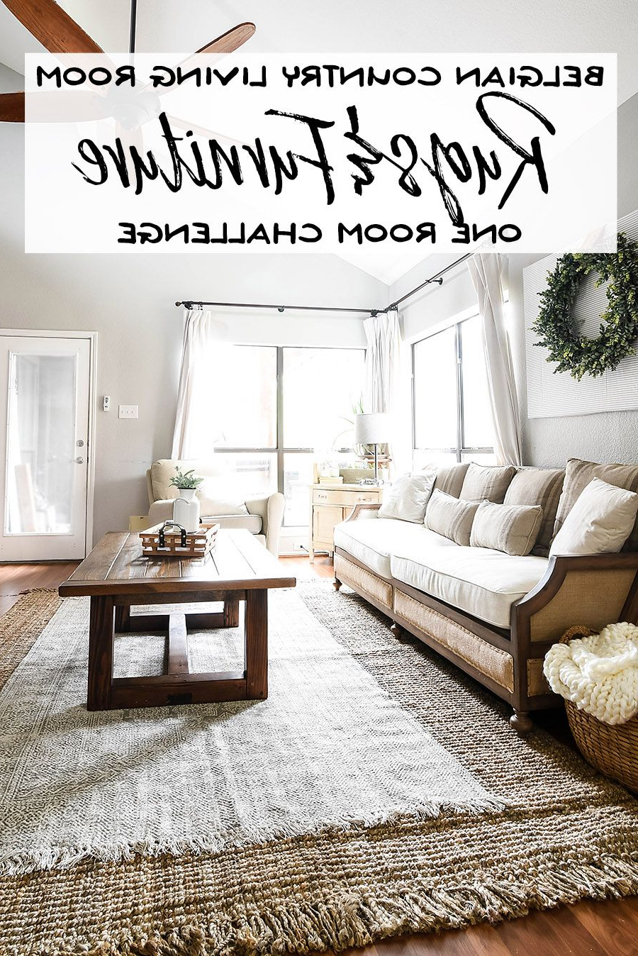 Most Recently Released One Room Challenge Week 3 – Living Room Rugs And Furniture (View 15 of 20)
