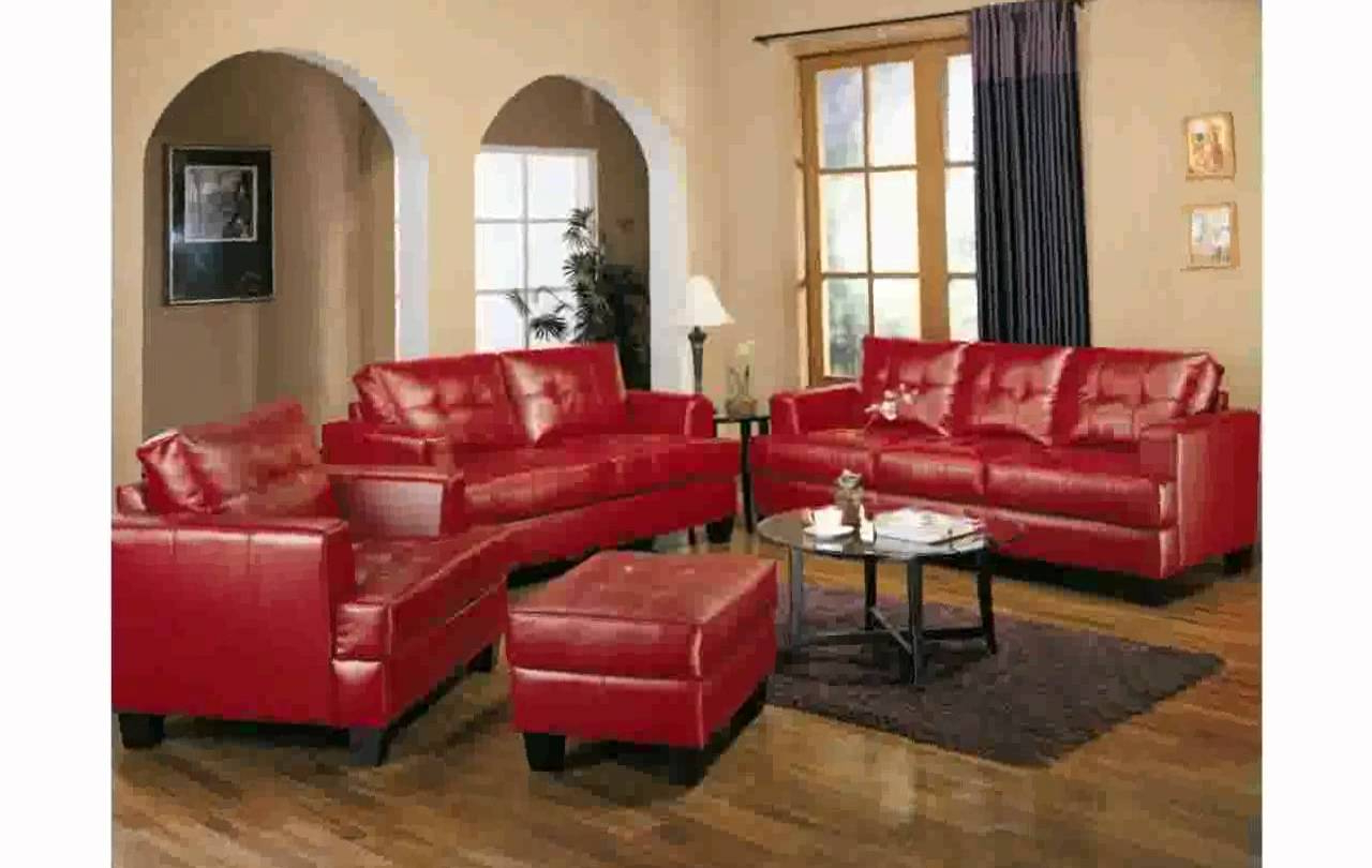 Most Recently Released Red Sofas And Chairs Within Bedroom Sets Dark Colour Bench Leather Designs Red And Furniture (View 9 of 20)