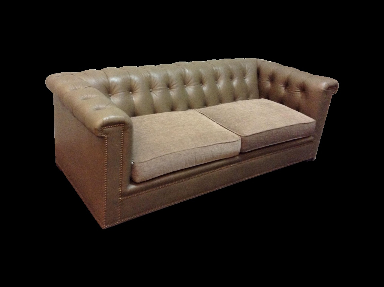Most Recently Released Walter Leather Sofa Fresh Hickory Chair Kent Tufted Leather Sofa On With Walter Leather Sofa Chairs (View 5 of 20)