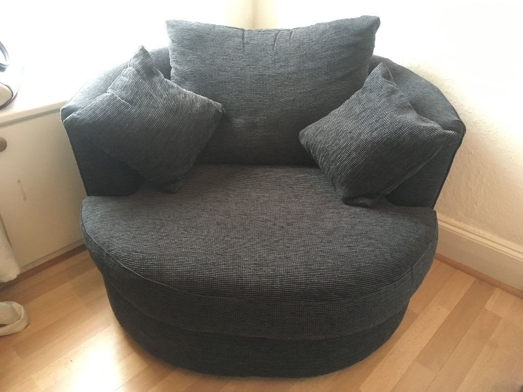 Most Up To Date Charcoal Swivel Chairs With Regard To Next Charcoal Swivel Chair In Excellent Condition (View 11 of 20)
