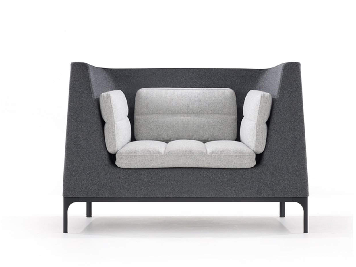 Most Up To Date Haven Sofa Chairs Intended For Haven Single Seat Armchair Large Futon Dimensions Double Wide (Gallery 6 of 20)