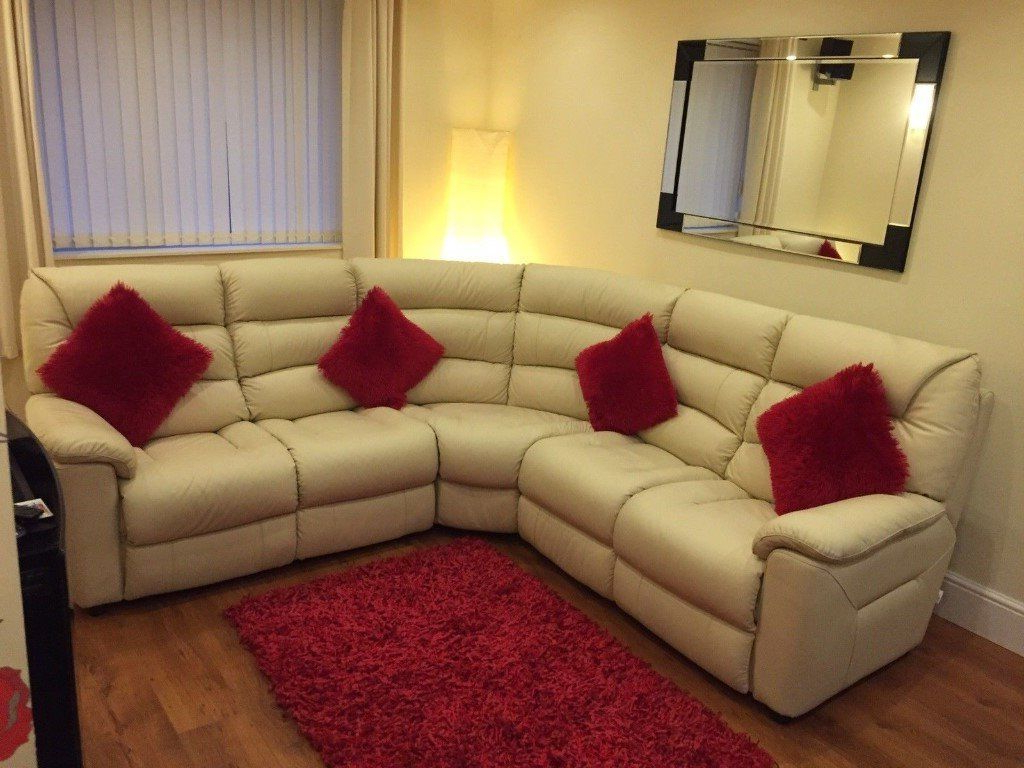 Most Up To Date Lazy Boy Sofas And Chairs With Lazy Boy La Z Boy Sofa Settee Chair Leather Cream Lounge Chair (View 11 of 20)