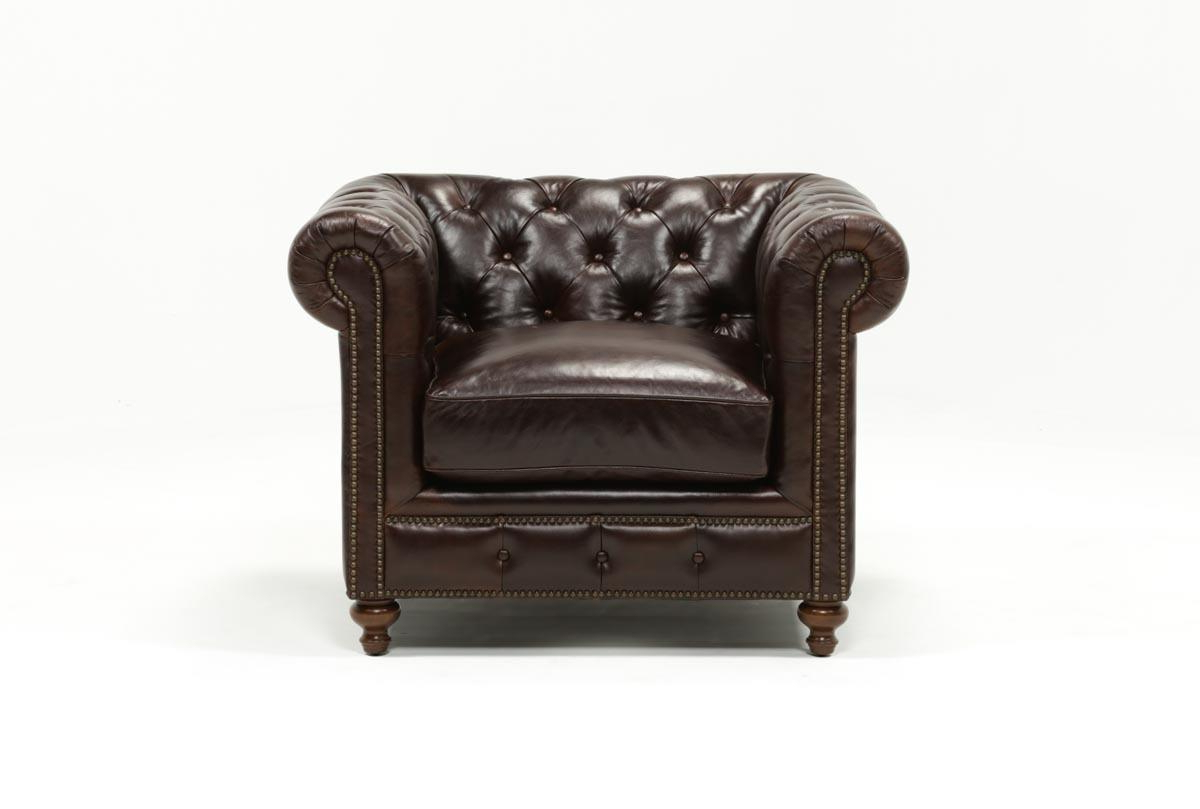 Most Up To Date Mansfield Cocoa Leather Sofa Chairs For Mansfield Cocoa Leather Chair (View 15 of 20)