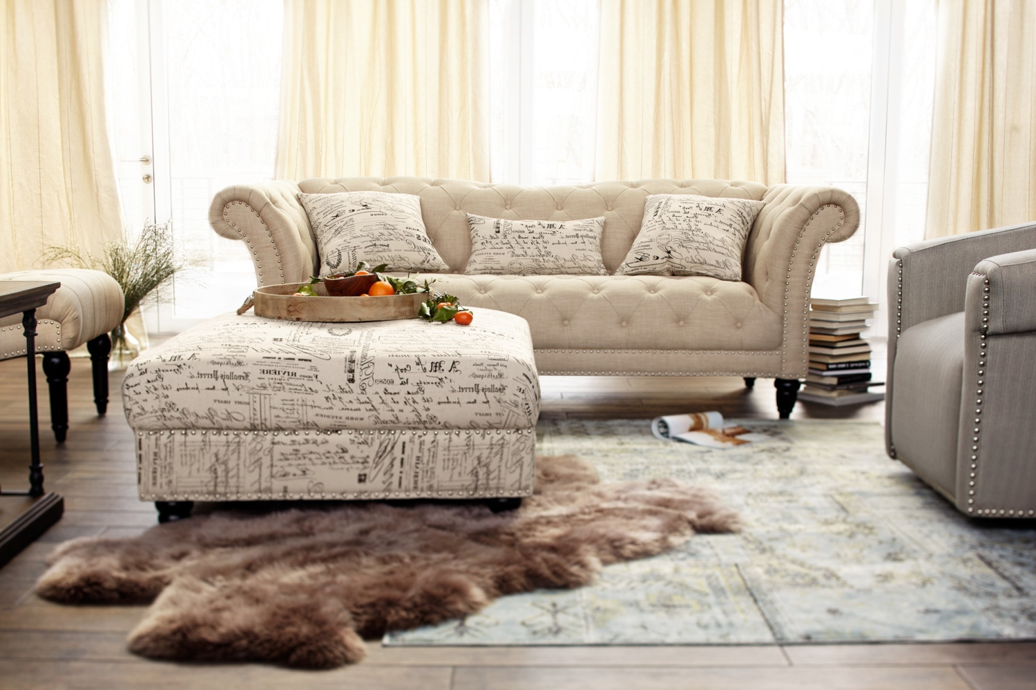 Most Up To Date Marisol Sofa, Loveseat And Armless Chair Set (Gallery 19 of 20)
