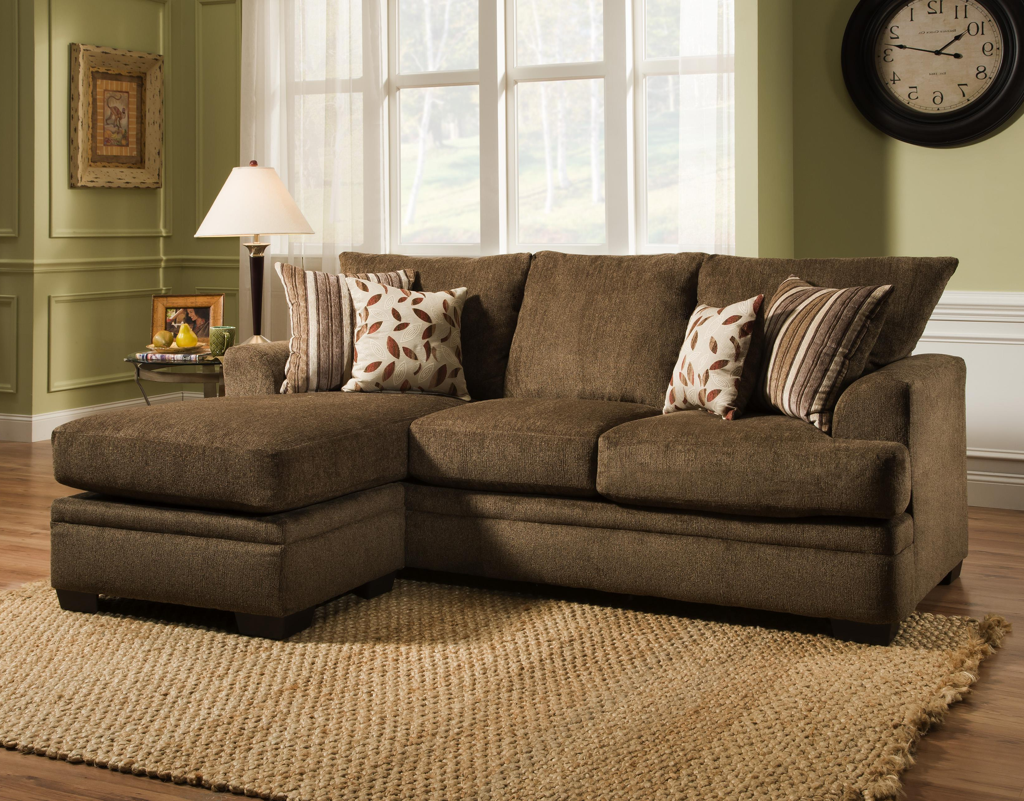 Newest American Furniture 3650 3657 1661 Sofa Chaise (View 3 of 20)