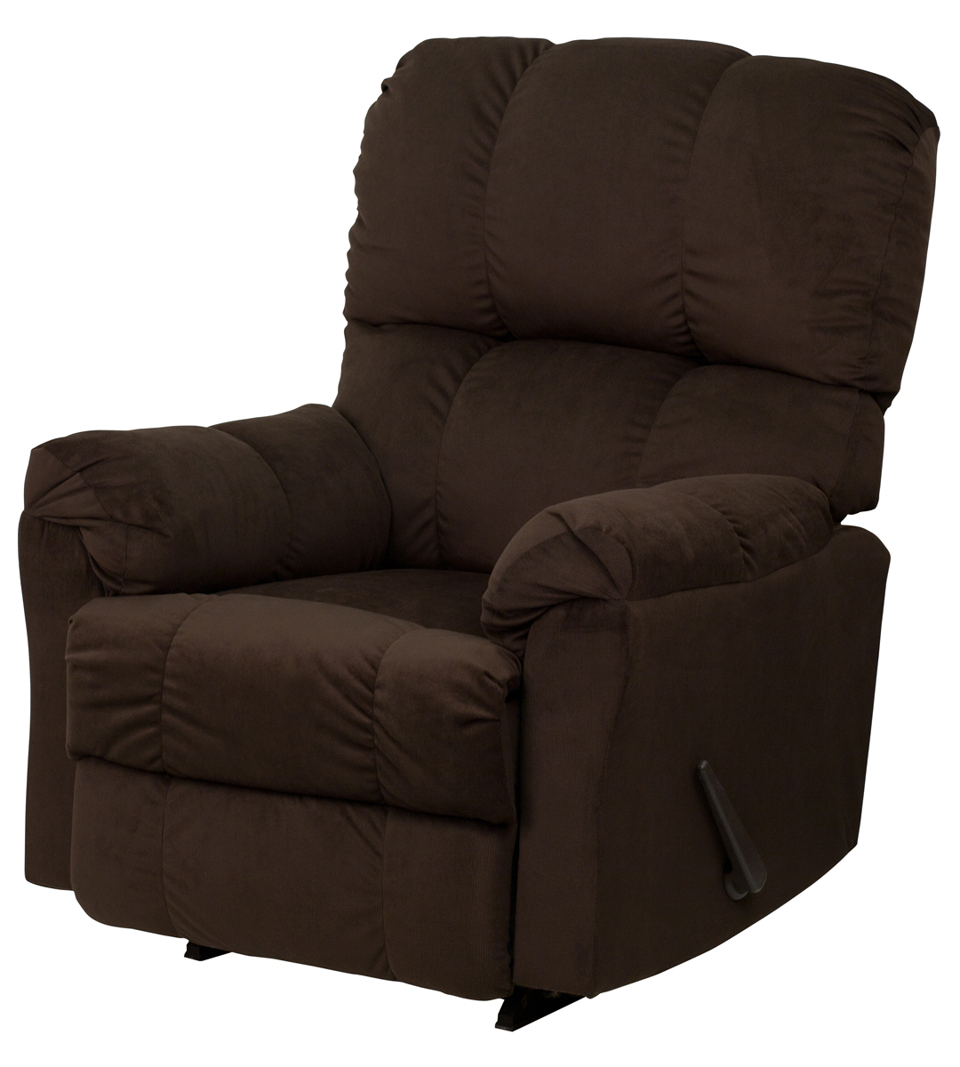 Newest Contemporary Top Hat Chocolate Microfiber Rocker Recliner Pertaining To Hercules Chocolate Swivel Glider Recliners (Gallery 11 of 20)