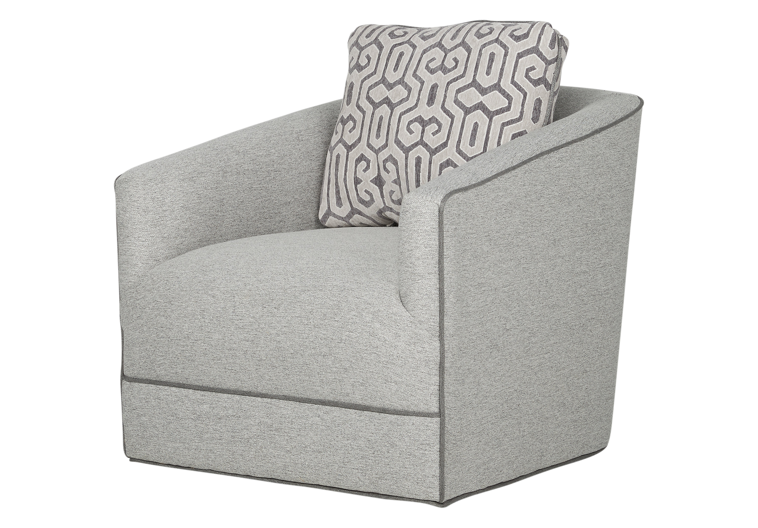 Newest Hercules Grey Swivel Glider Recliners Within Cordelle Swivel Chair American Signature Furniture Grey Ikea  (View 13 of 20)