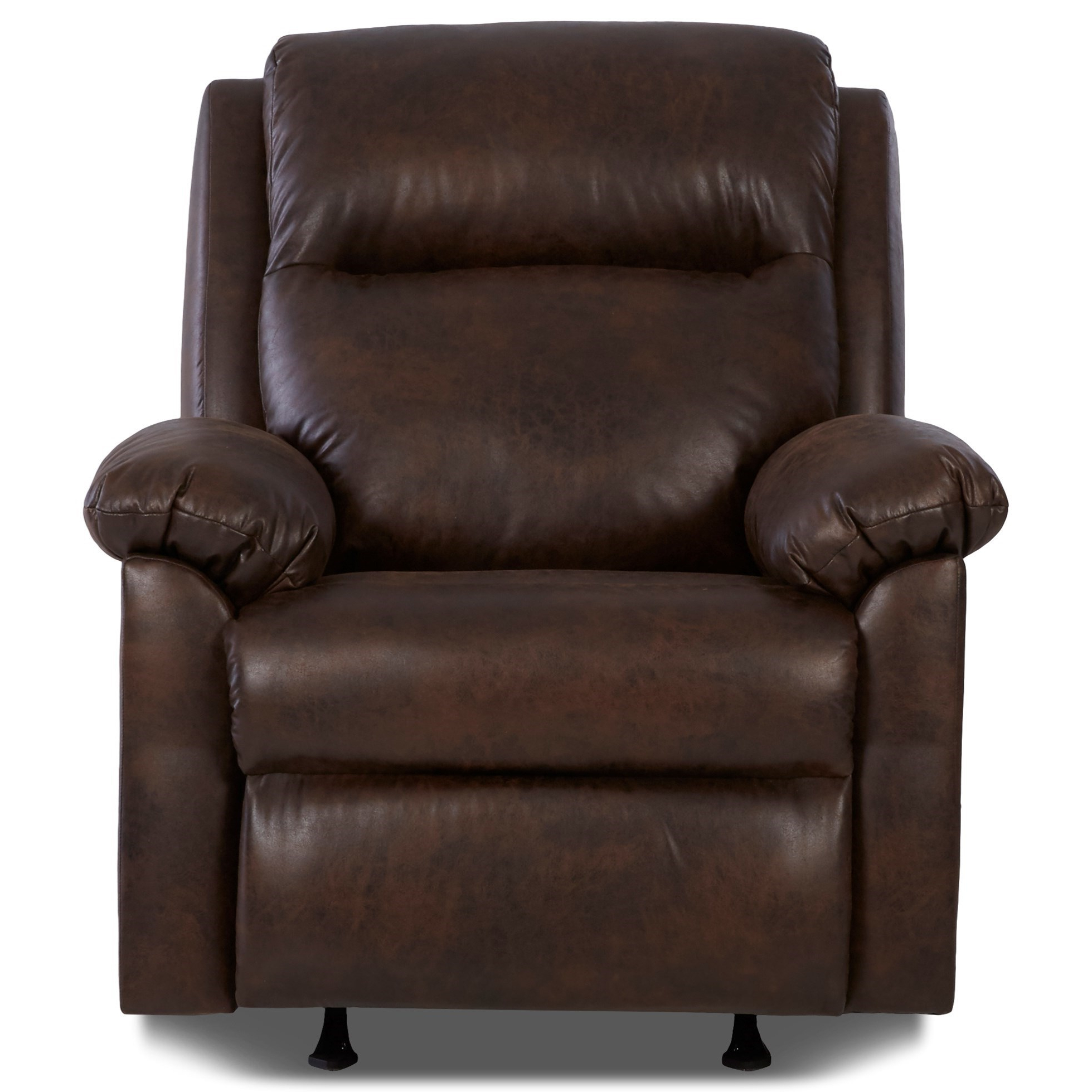 Newest Klaussner Amari Casual Pillow Padded Power Rocker Recliner With For Amari Swivel Accent Chairs (View 17 of 20)