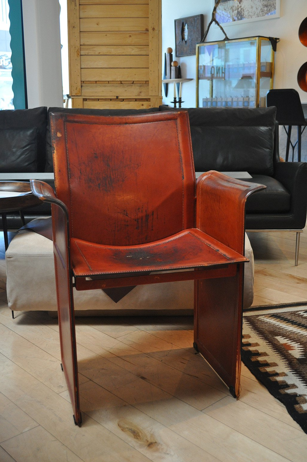 Newest Matteo Arm Sofa Chairs Pertaining To Matteo Grassi Leather Armchair For Sale At 1Stdibs (Gallery 6 of 20)
