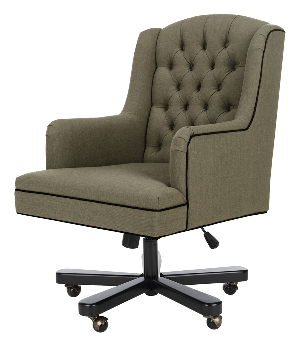 Newest Nichol Swivel Accent Chairs Throughout Mcr4211A Desk Chairs – Furnituresafavieh (View 12 of 20)