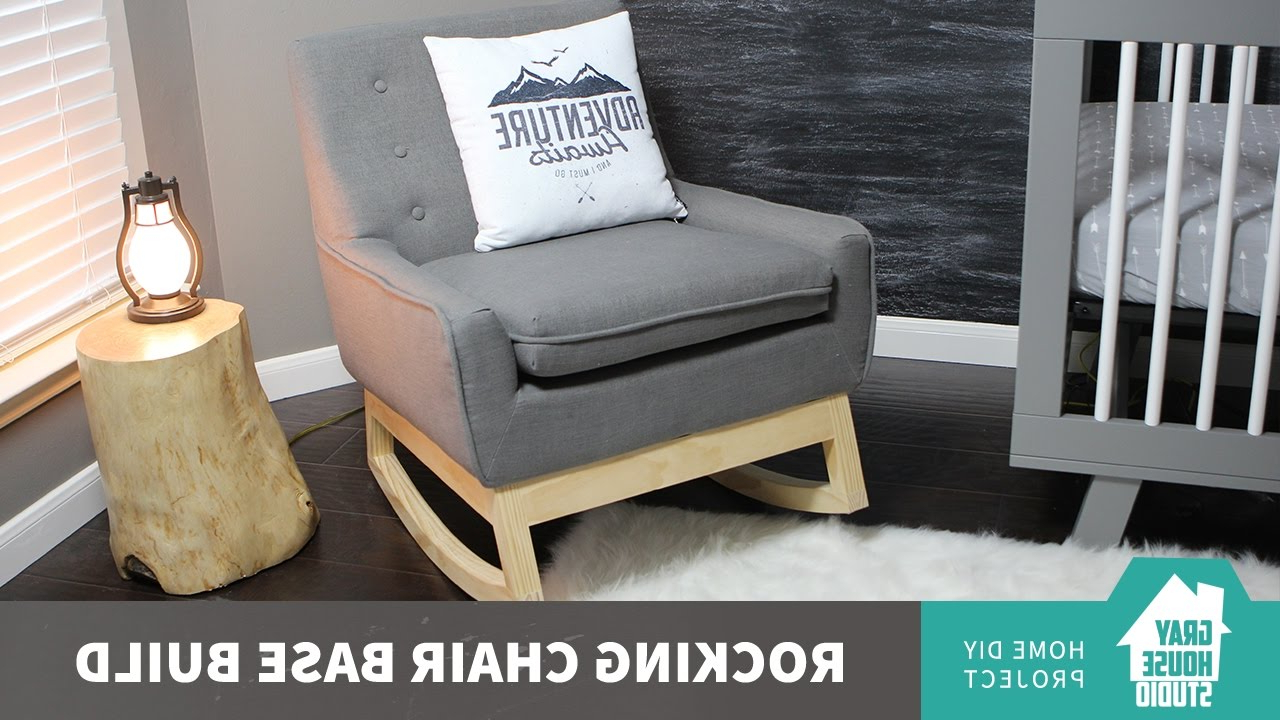 Newest Sofa Rocking Chairs Inside Rocking Chair Base Build // Diy – Youtube (View 8 of 20)