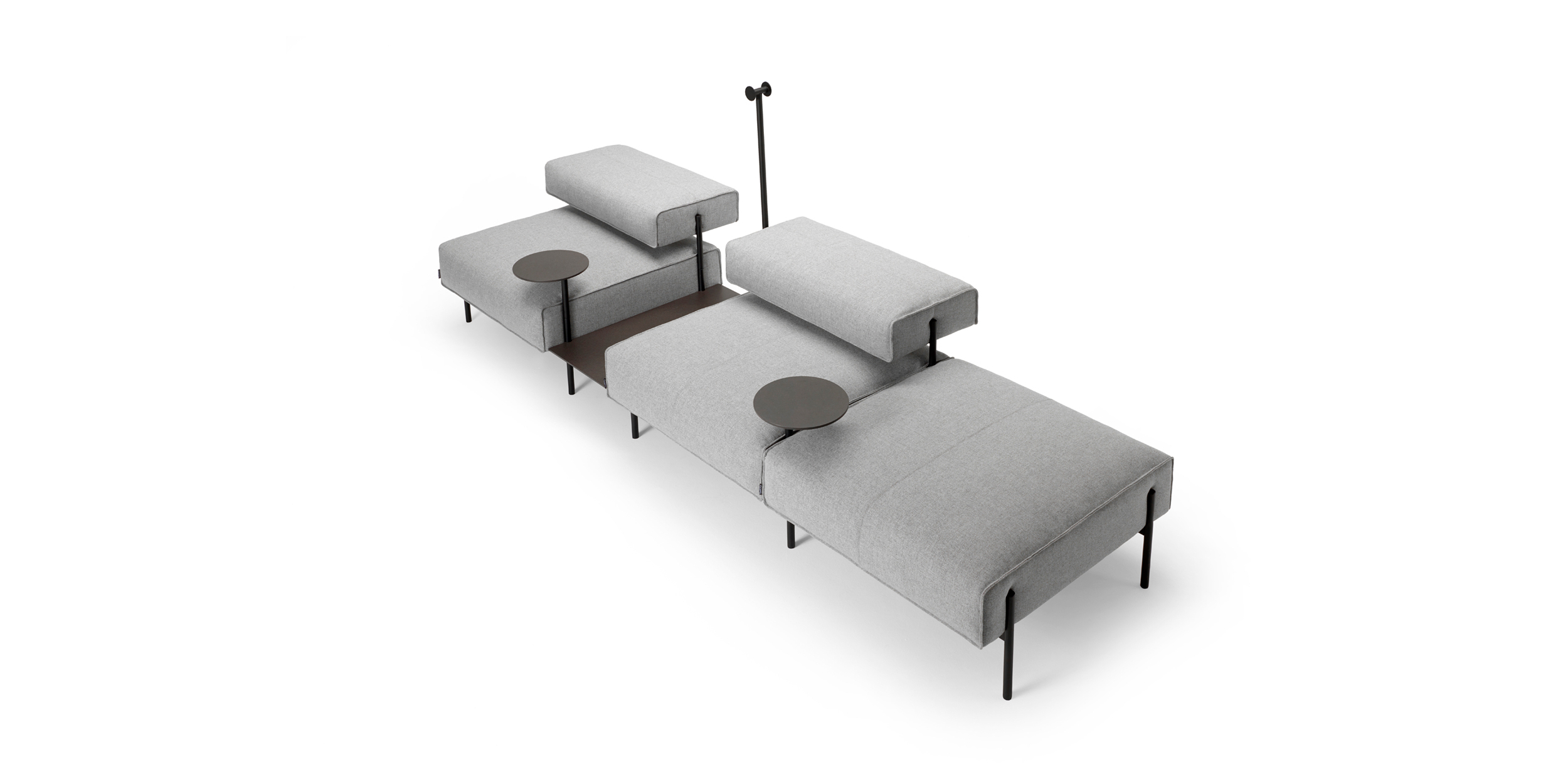 Offecct Pertaining To Lucy Grey Sofa Chairs (View 6 of 20)