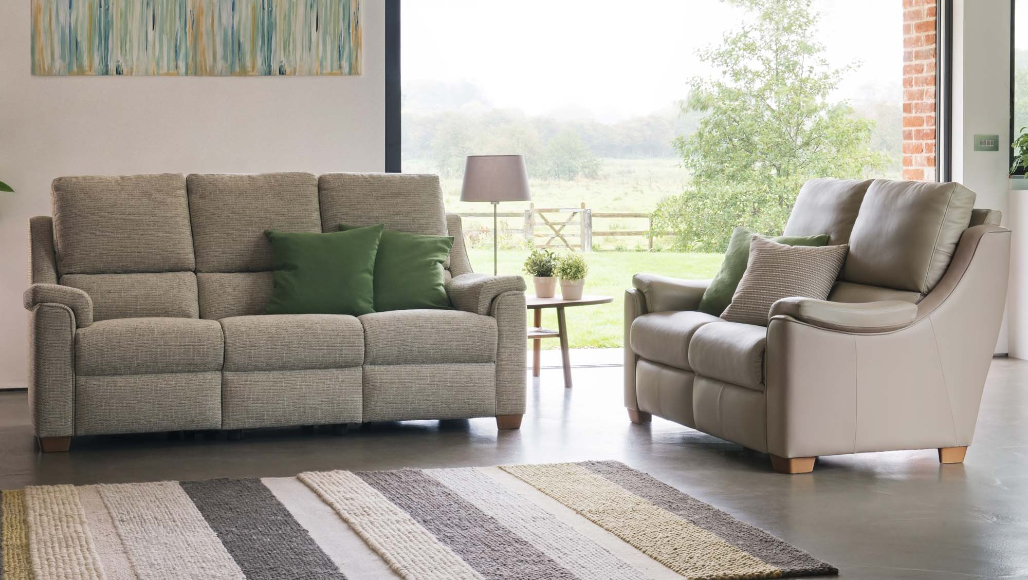 Parker Knoll Albany – Fabric Ranges – Sofas & Chairs (View 8 of 20)