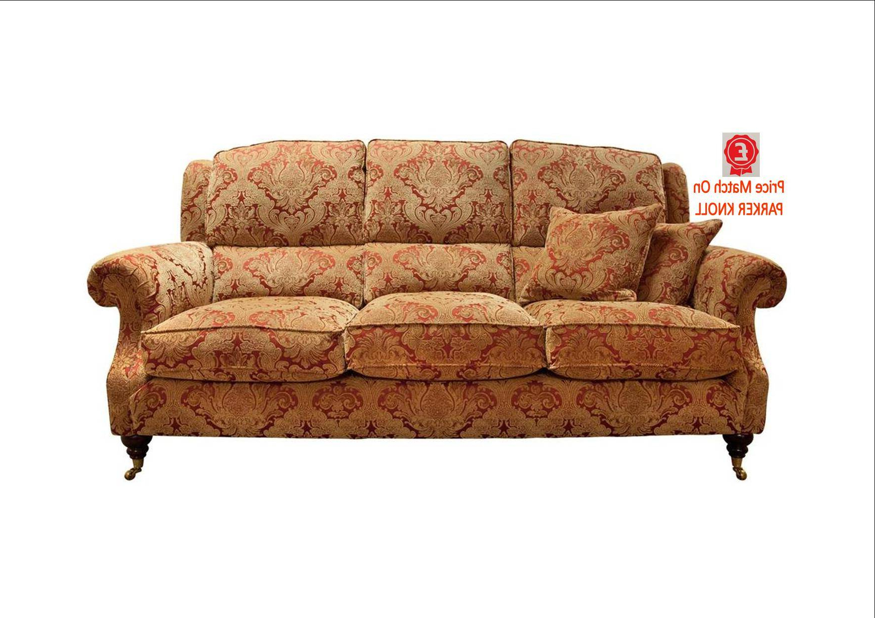Parker Sofa Chairs Intended For Most Recent Parker Knoll Parker Knoll – Oakham 3 Seat Sofa C Fabric – Fabric (Gallery 4 of 20)