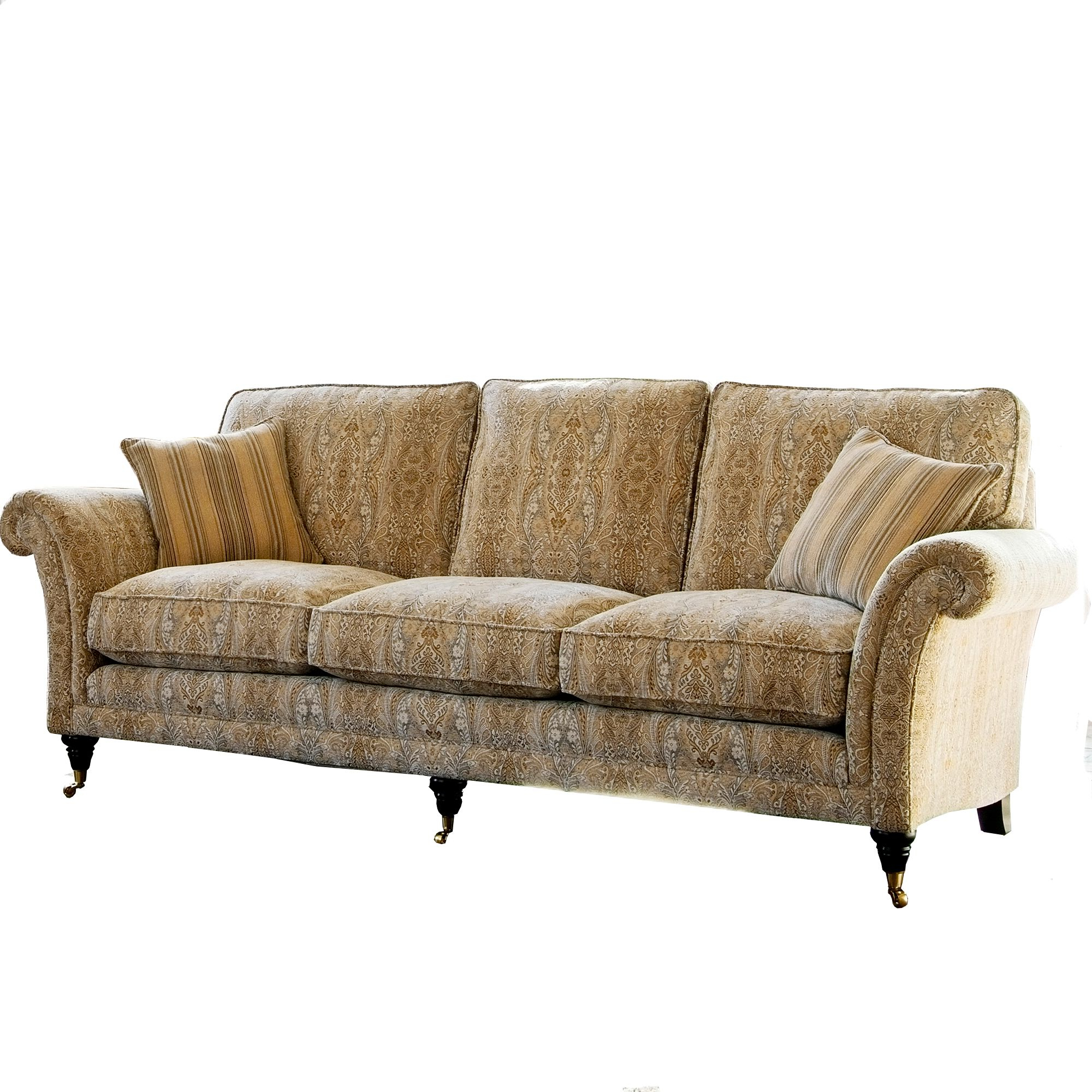 Parker Sofa Chairs With Trendy Parker Knoll Burghley Grand Sofa – Leather Sofas – Cookes Furniture (View 5 of 20)