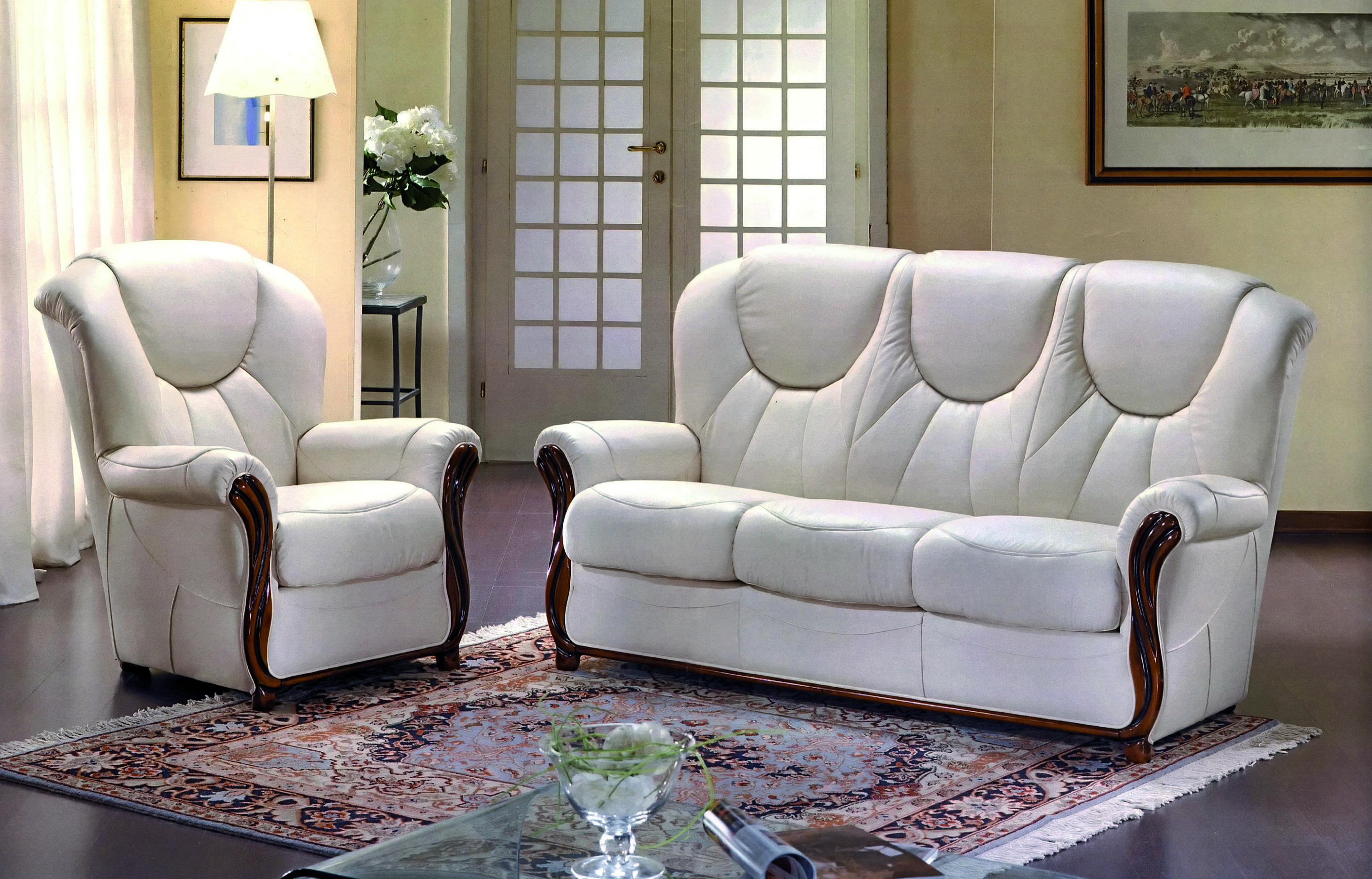 Pinmini Divani On Our Collection Of Leather/fabric Suites With Regard To Newest Gina Grey Leather Sofa Chairs (Gallery 15 of 20)