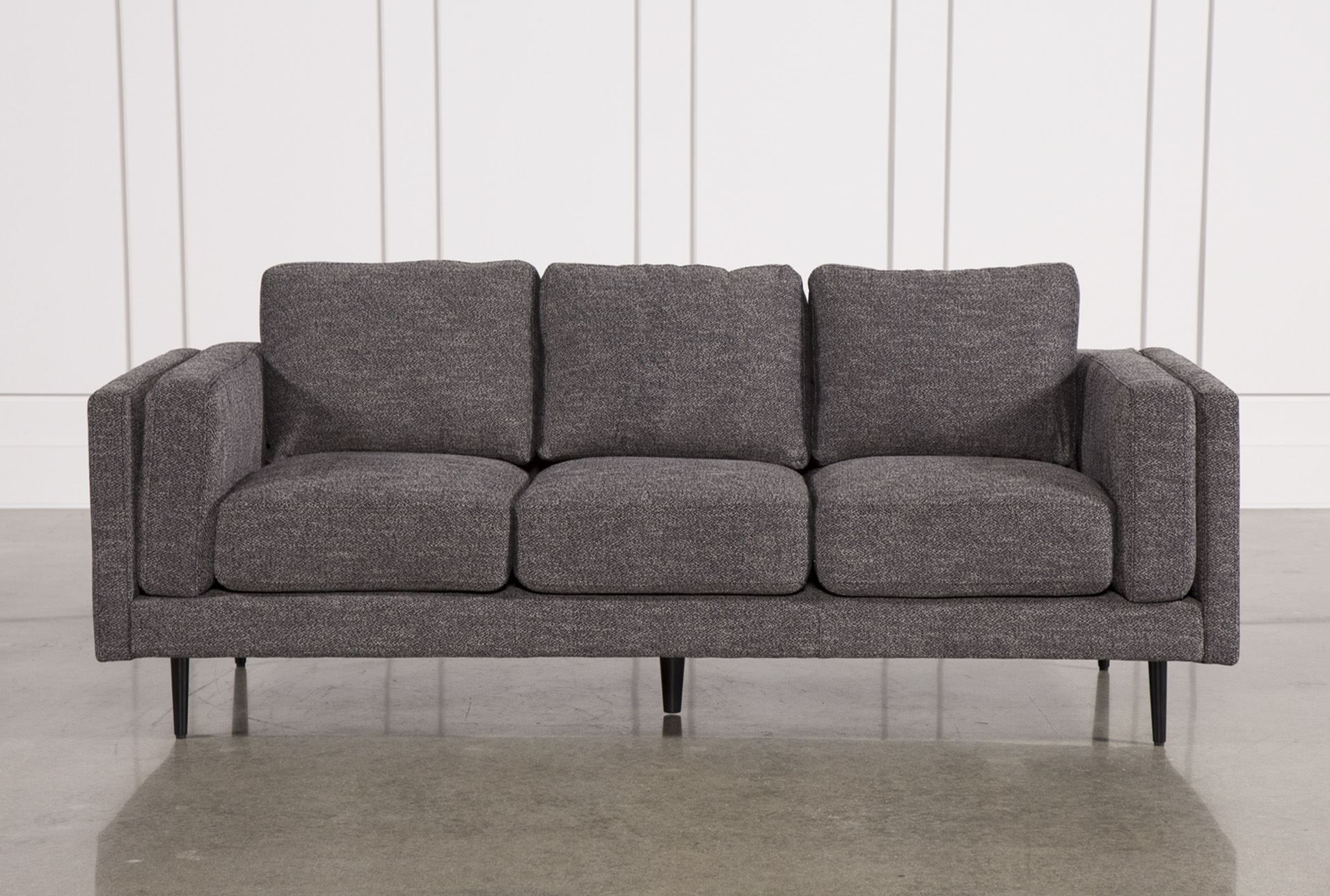 Featured Photo of Aquarius Dark Grey Sofa Chairs