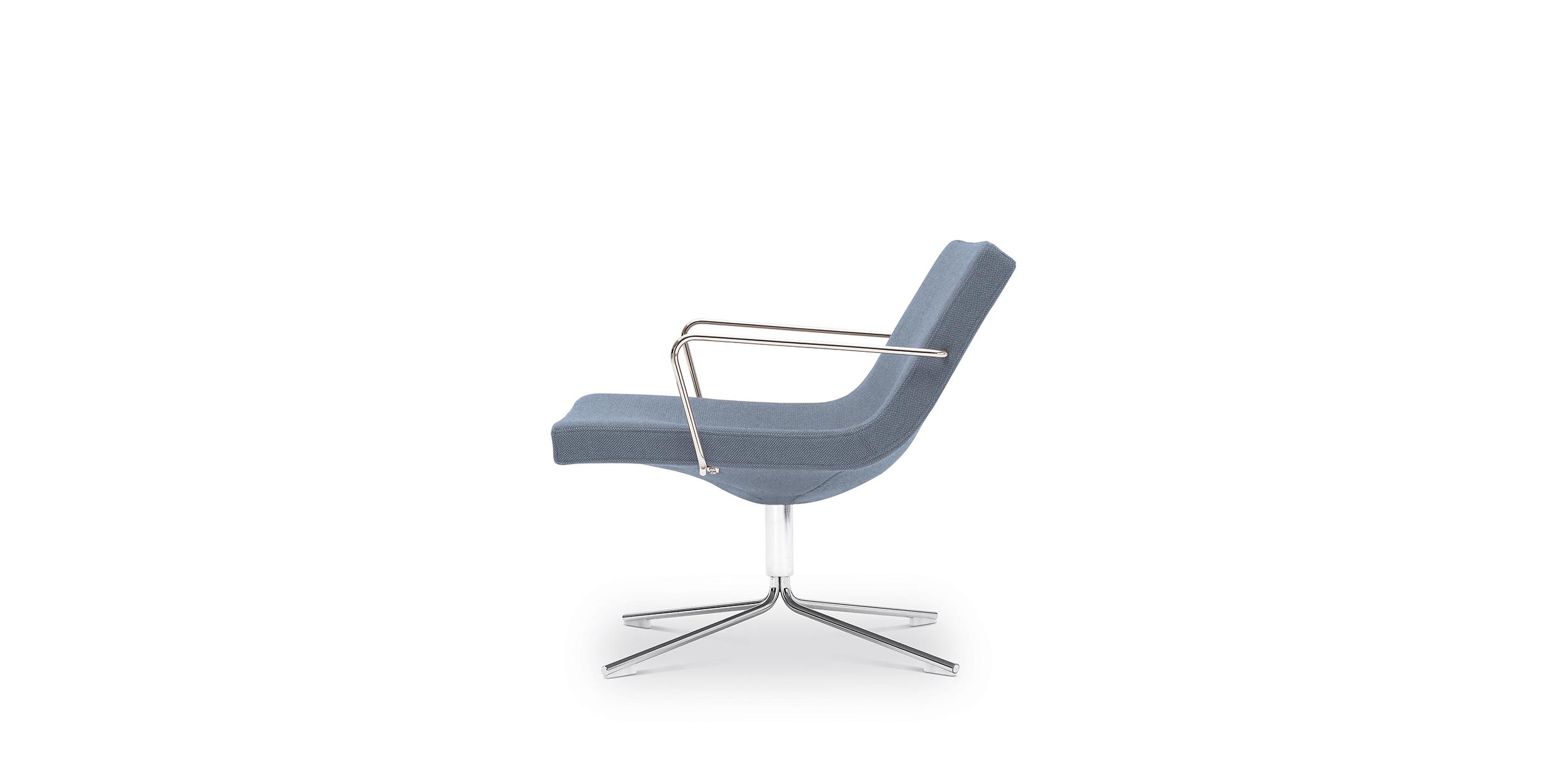 Popular Bond Easy Armchair Modern Design Jean Marie Massaud Offecct Chairs Inside Mari Swivel Glider Recliners (View 20 of 20)
