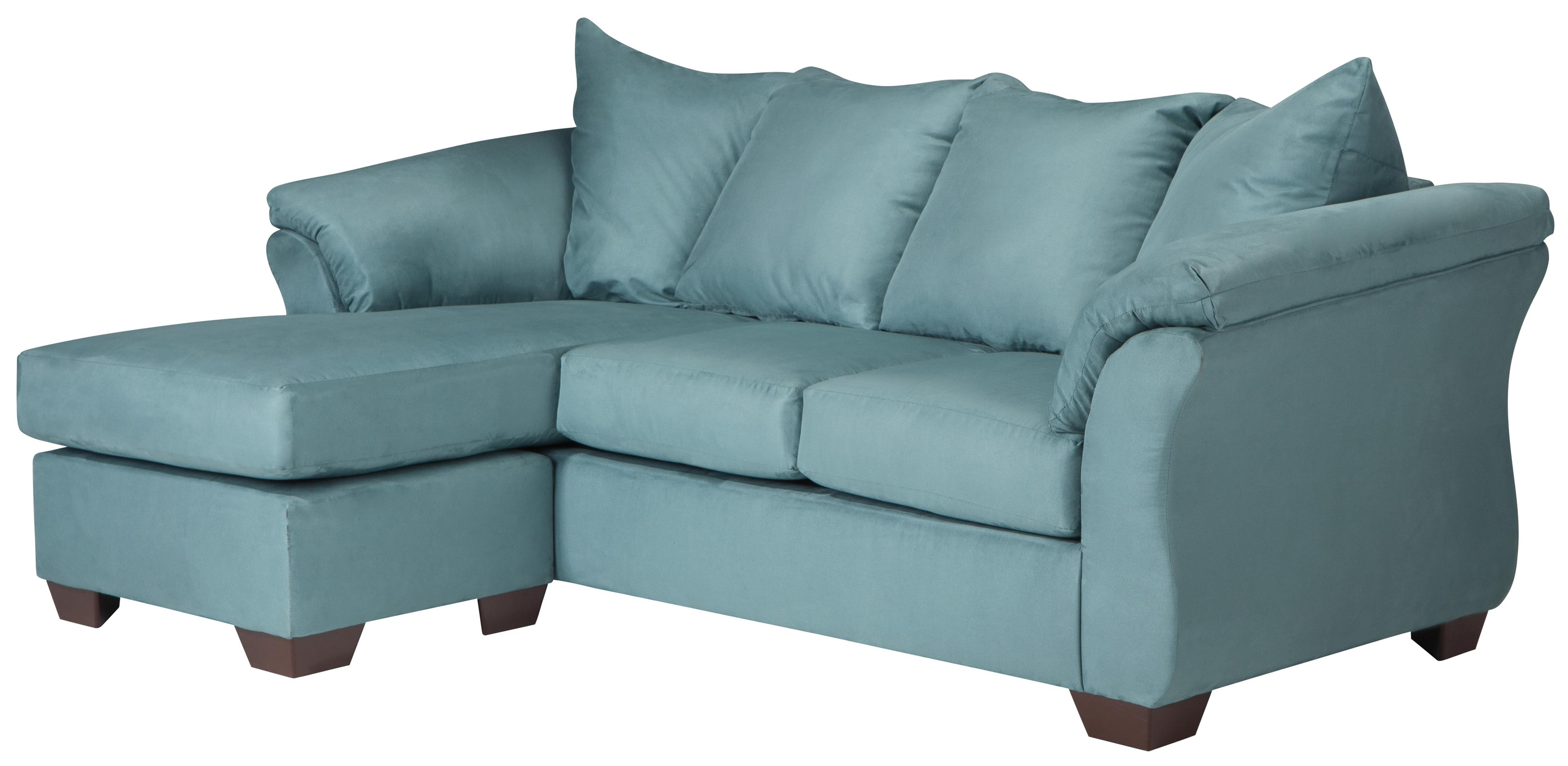 Popular Chaise Sofa Chairs Pertaining To Signature Designashley Darcy – Sky Contemporary Sofa Chaise With (View 5 of 20)