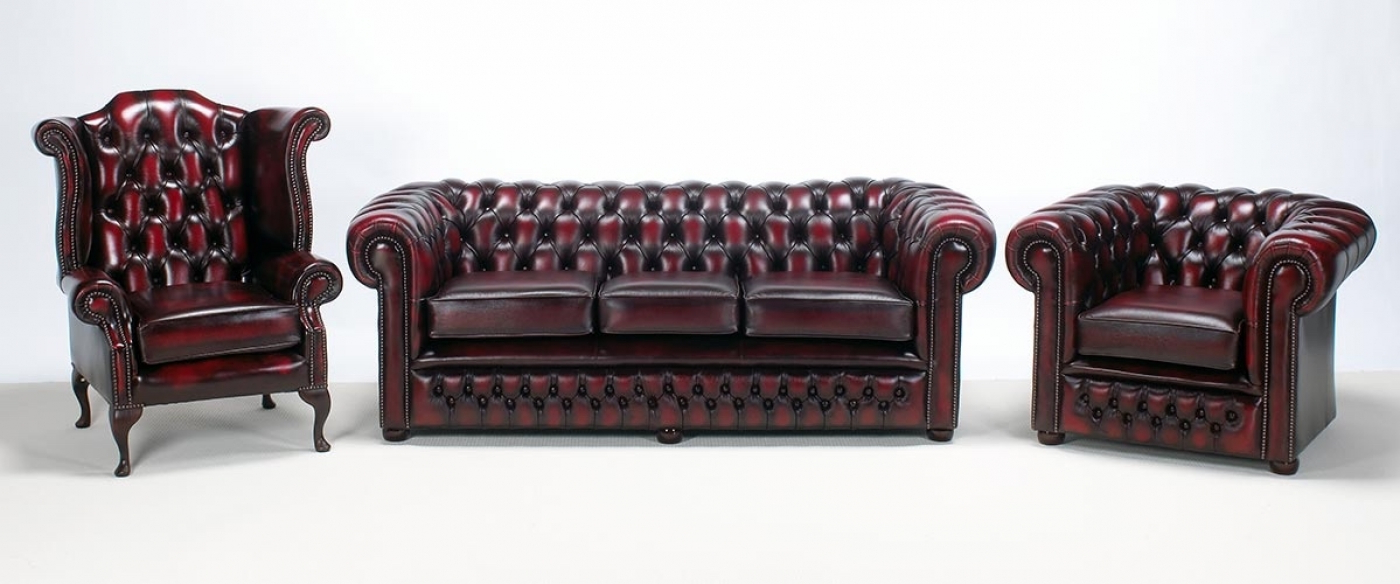 Popular Chesterfield Furniture Is The Best – Goodworksfurniture With Chesterfield Sofa And Chairs (Gallery 3 of 20)
