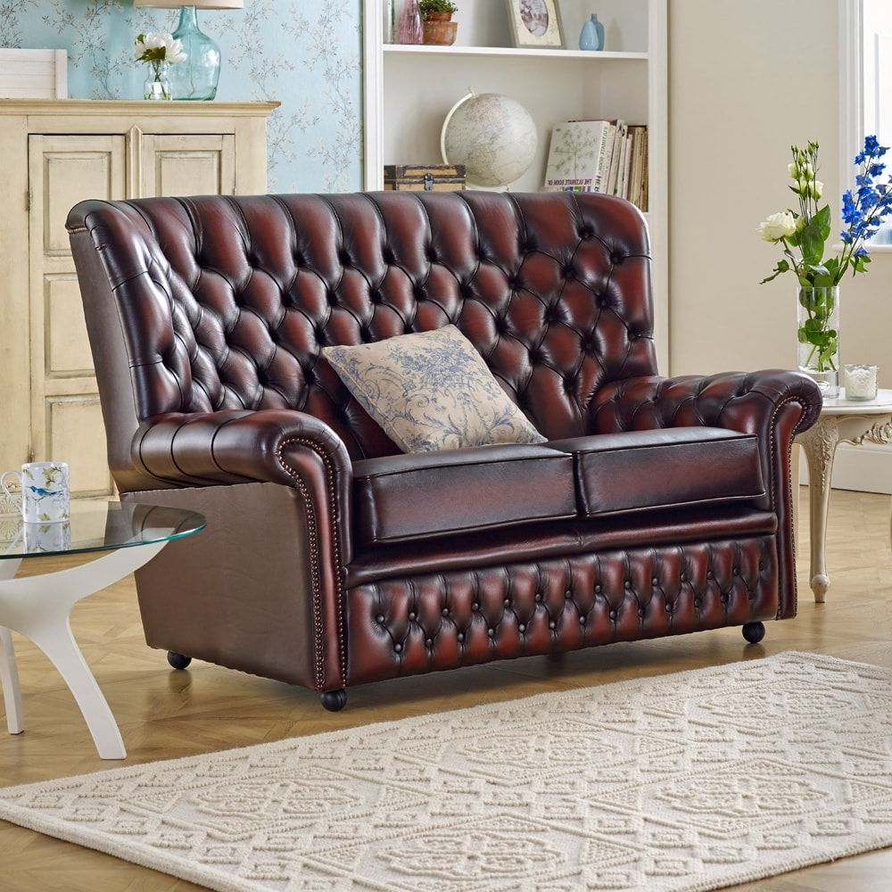 Popular Devon 2 Seater Sofa – From Sofassaxon Uk With Devon Ii Arm Sofa Chairs (Gallery 12 of 20)