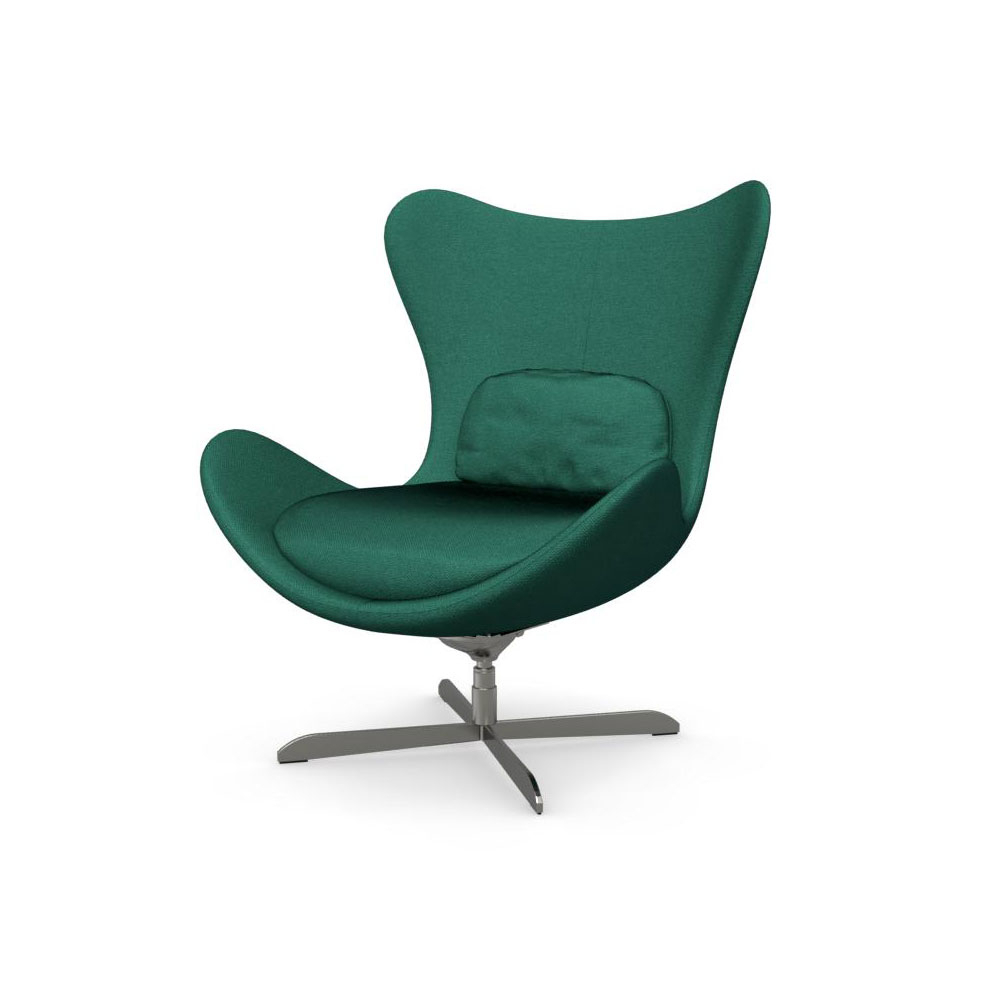 Popular Lazy Cs/3373 C 1310 Swinging Swivel Chaircalligaris, Italy With Chill Swivel Chairs With Metal Base (View 8 of 20)