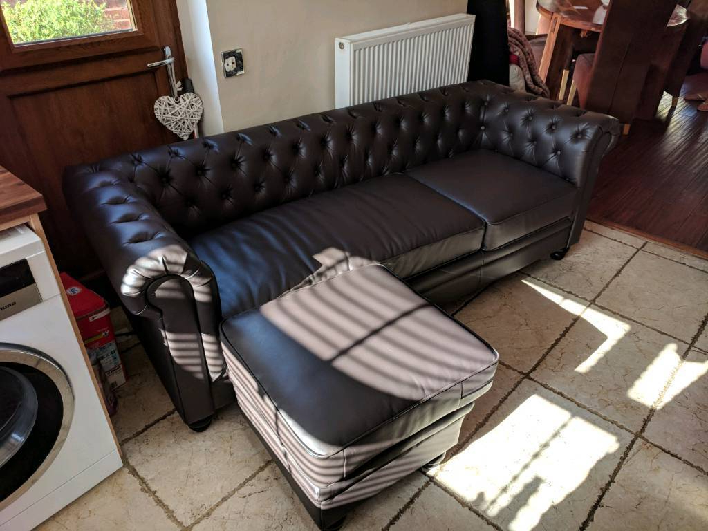 Popular Leather Sofa (View 16 of 20)