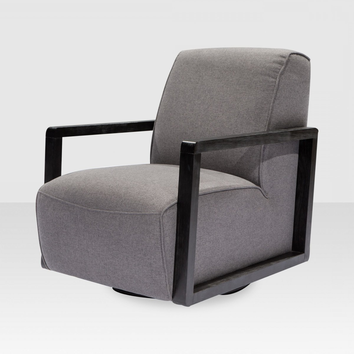 Posy Swivel Chair In Charcoal – Elte Market Inside Trendy Charcoal Swivel Chairs (View 12 of 20)