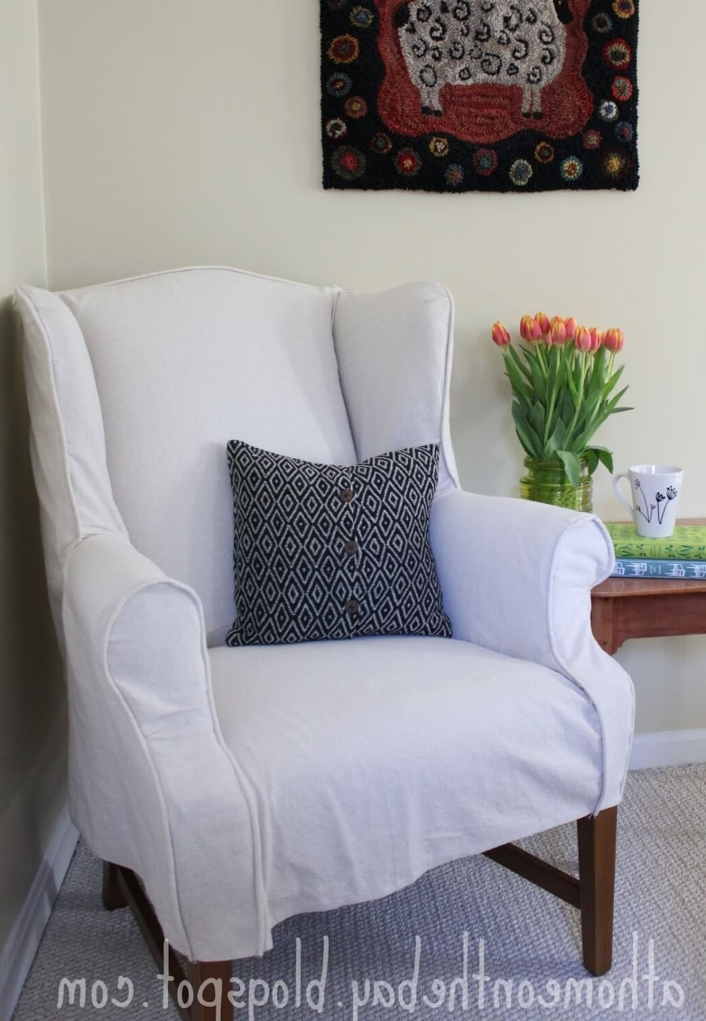 Pottery Barn Chair Slipcovers For Chairs How To Cover A Couch With With Current Sofa And Chair Slipcovers (View 10 of 20)