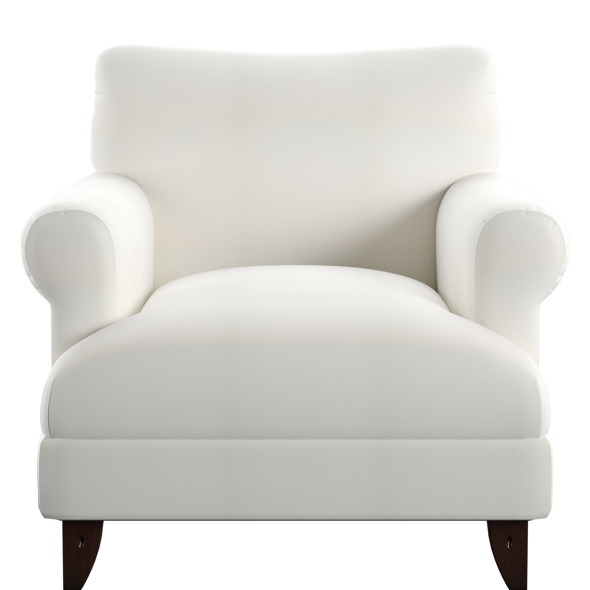 Preferred Allie Dark Grey Sofa Chairs Within Wayfair Custom Upholstery™ Allie Armchair & Reviews (View 14 of 20)