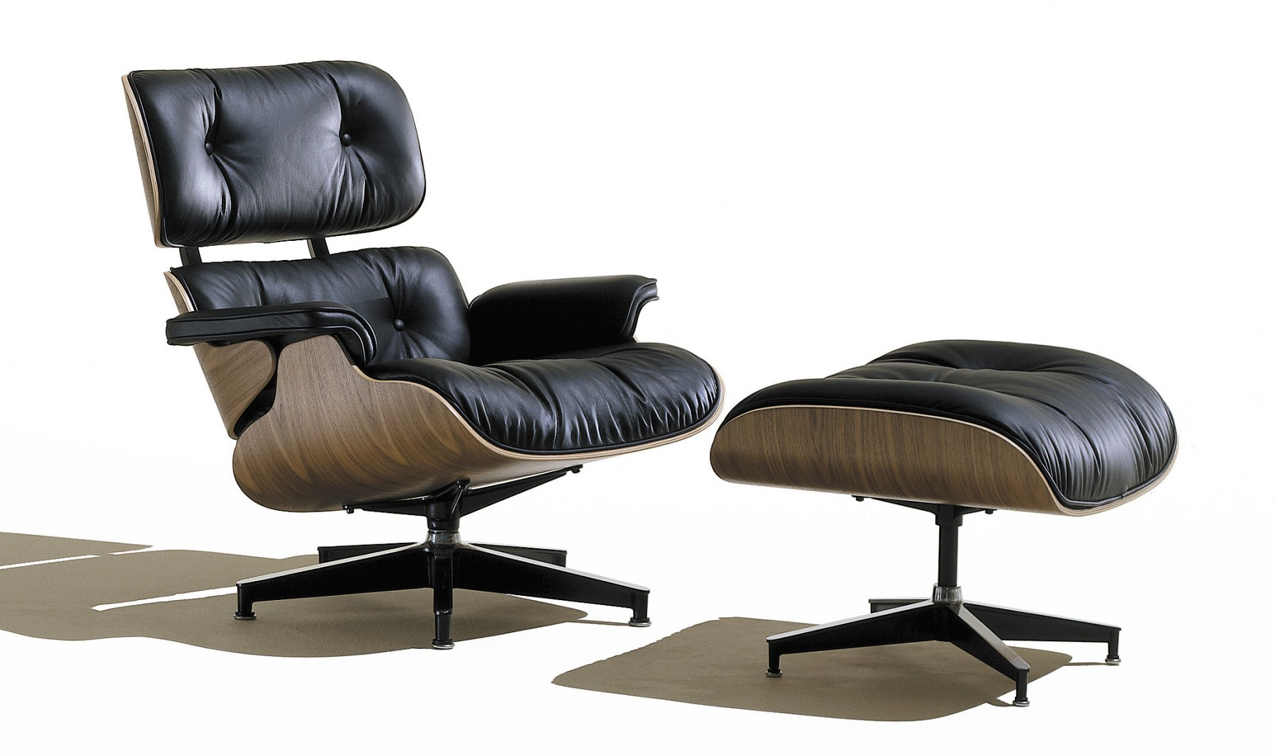 Preferred Herman Miller Eames® Lounge Chair And Ottoman – Gr Shop Canada Inside Chadwick Gunmetal Swivel Chairs (Gallery 18 of 20)