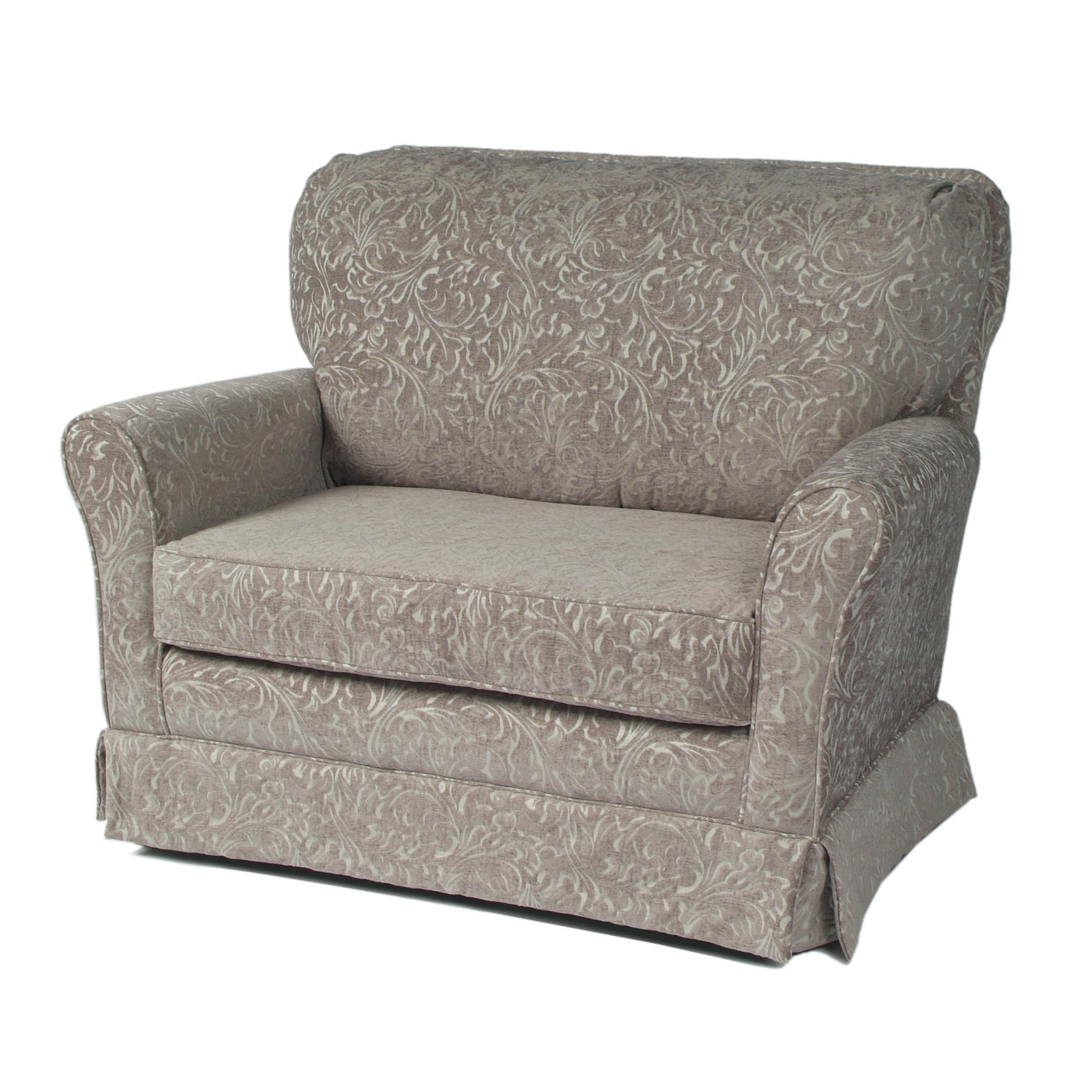 Preferred Katrina Grey Swivel Glider Chairs Pertaining To Little Castle Cottage Chair And A Half Glider & Reviews (View 12 of 20)