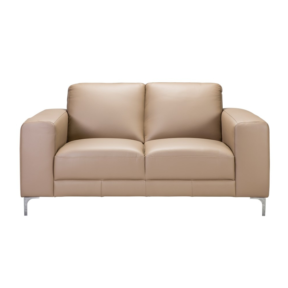 Preferred Kiara 2 Seater Love Seat Leather With Regard To Kiara Sofa Chairs (View 6 of 20)