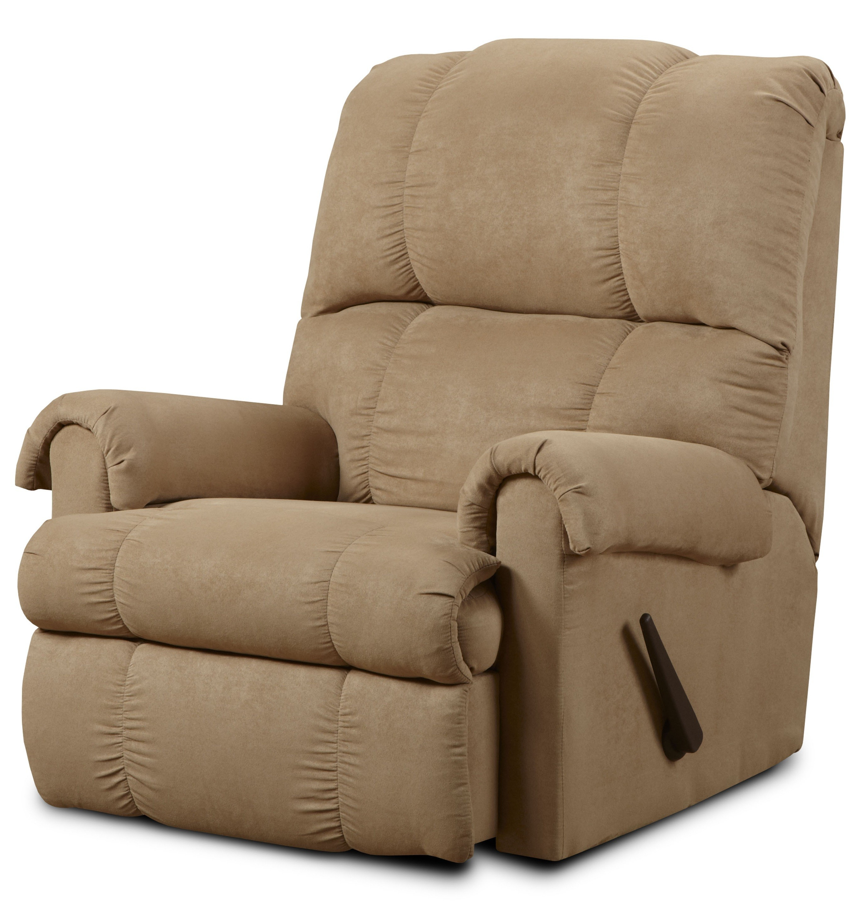 Preferred Rogan Leather Cafe Latte Swivel Glider Recliners Intended For Furniture: Surprising Simmons Recliners For Contemporary Living Room (View 5 of 20)