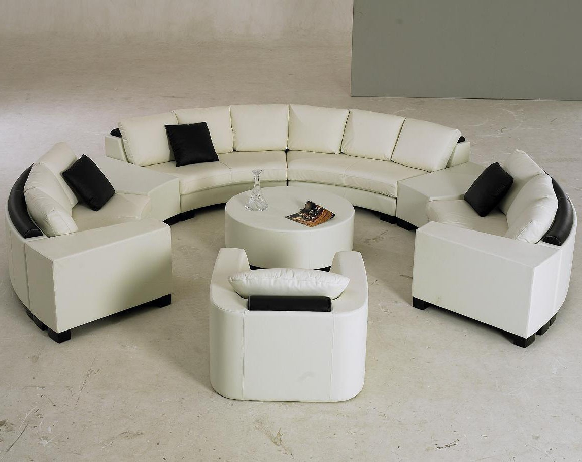 Preferred Round Sofa Chair Living Room Furniture Inside Living Room : Round Sofa Chair Round Sofa Chair Circular Sectional (View 4 of 20)