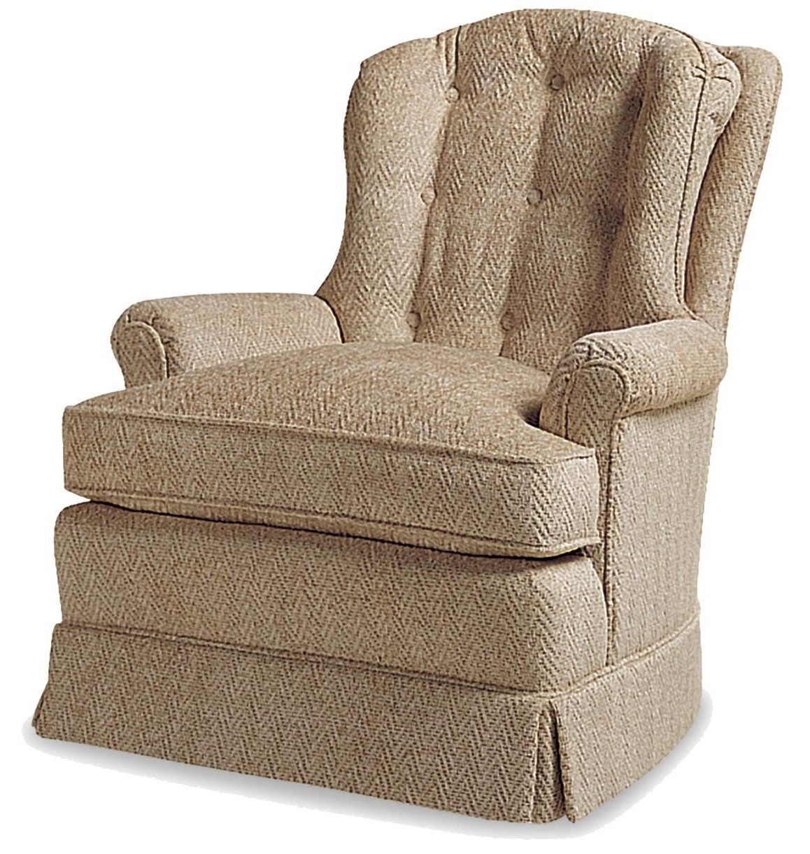 Preferred Twirl Swivel Accent Chairs For Fine Upholstered Accents O'connor Swivel Rockerjessica Charles (View 13 of 20)