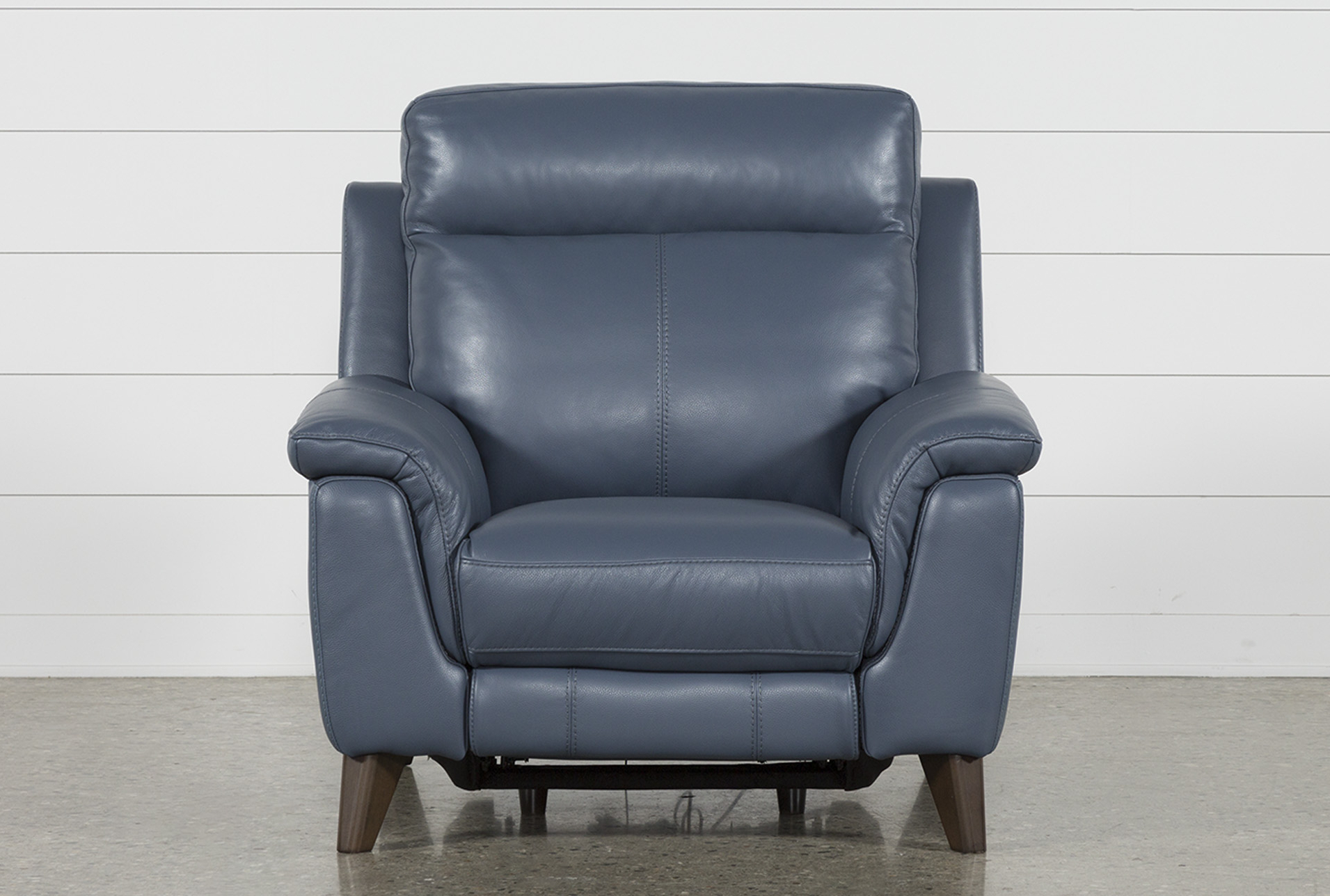 Products With Regard To Moana Blue Leather Power Reclining Sofa Chairs With Usb (Gallery 2 of 20)