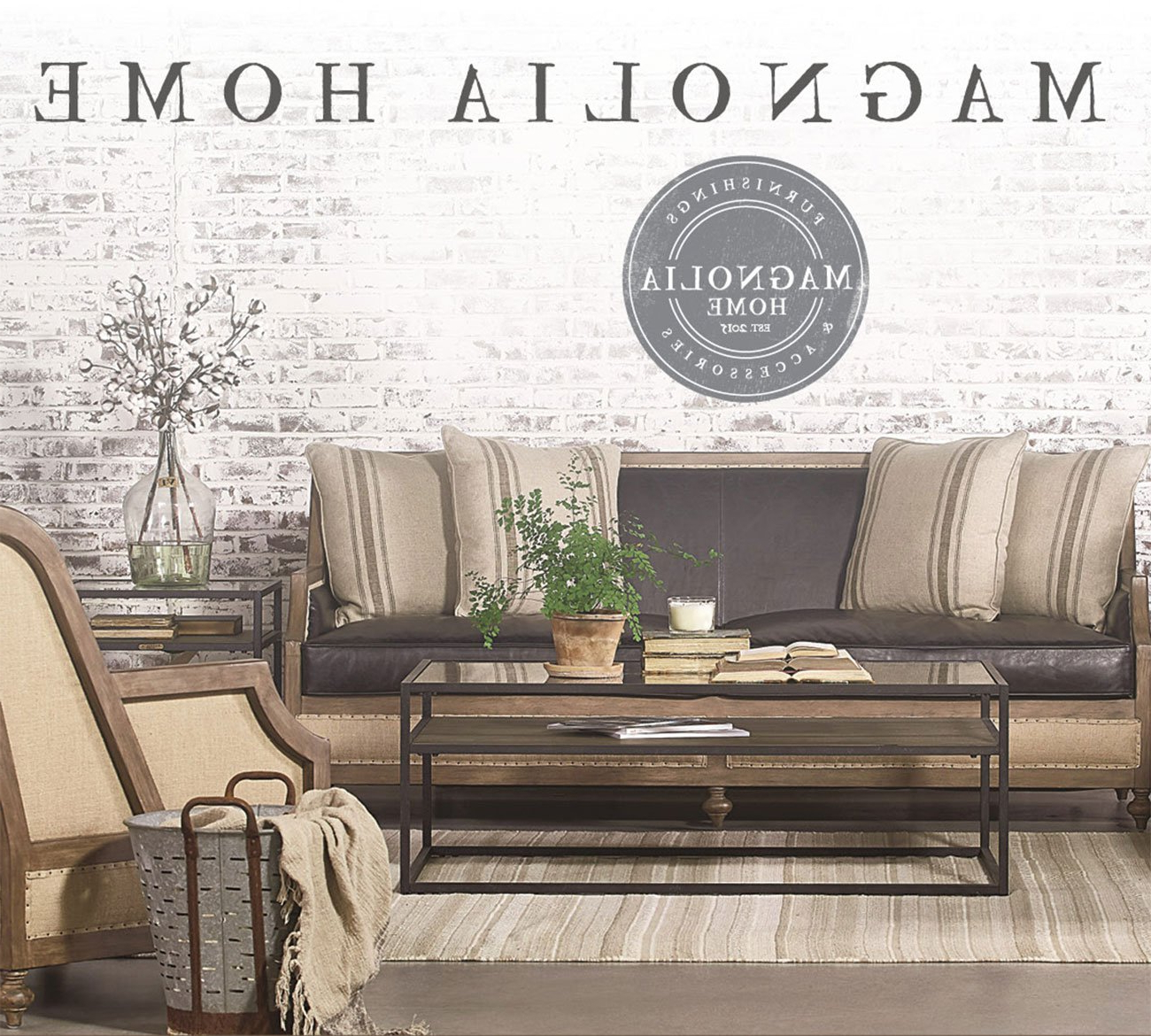 Rc Willey Furniture Store Intended For Magnolia Home Foundation Leather Sofa Chairs (View 5 of 20)