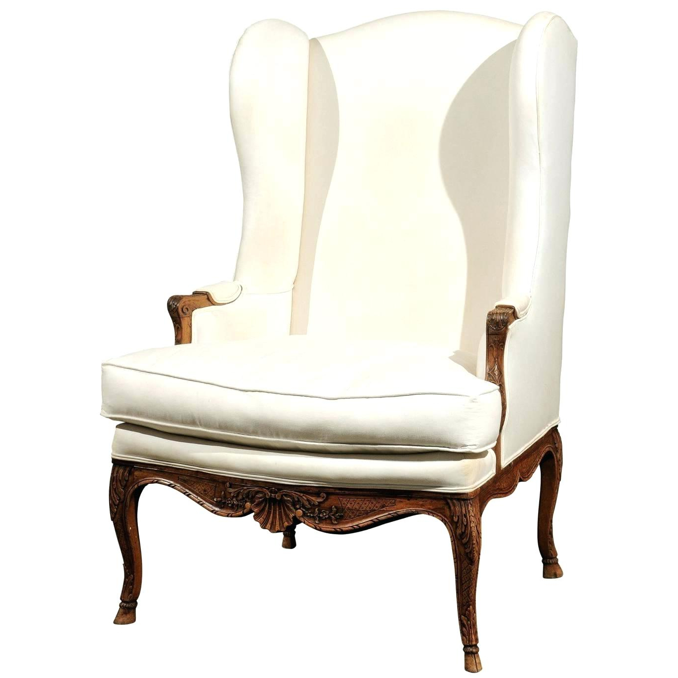 Recent Bailey Linen Flare Arm Wing Skirted Swivel Gliders In Skirted Wingback Chair Bailey Flare Arm Wing Skirted Swivel Glider (View 9 of 9)